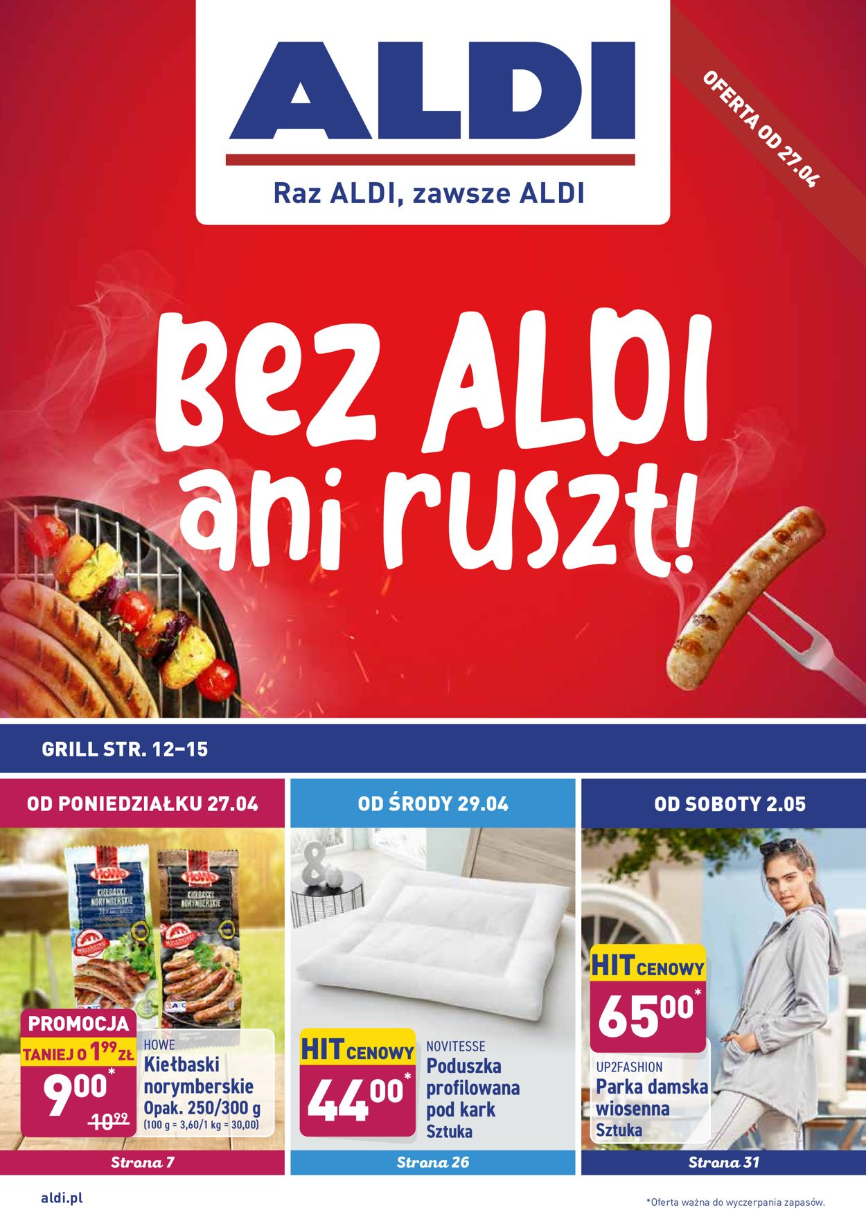 Gazetka promocyjna ALDI - 27.04-02.05.2020