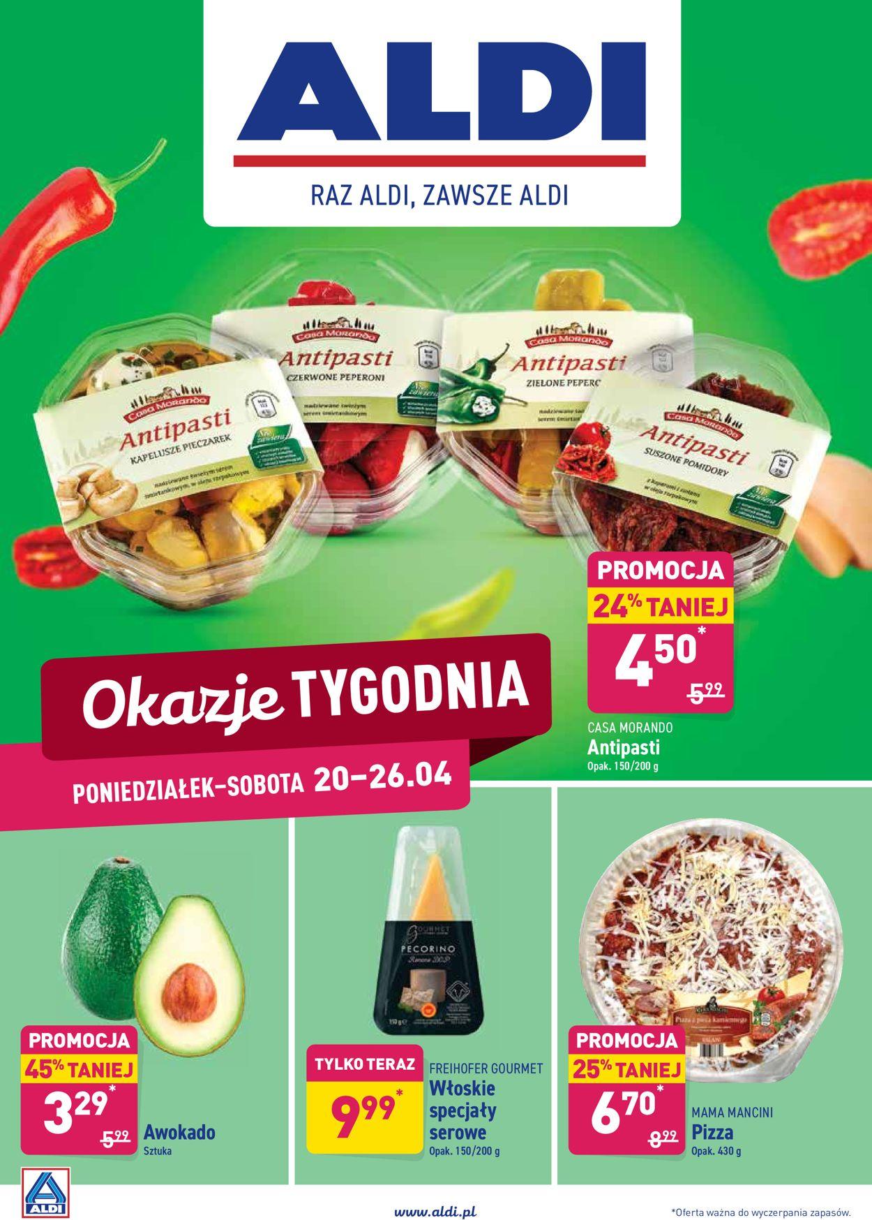 Gazetka promocyjna ALDI - 20.04-26.04.2020