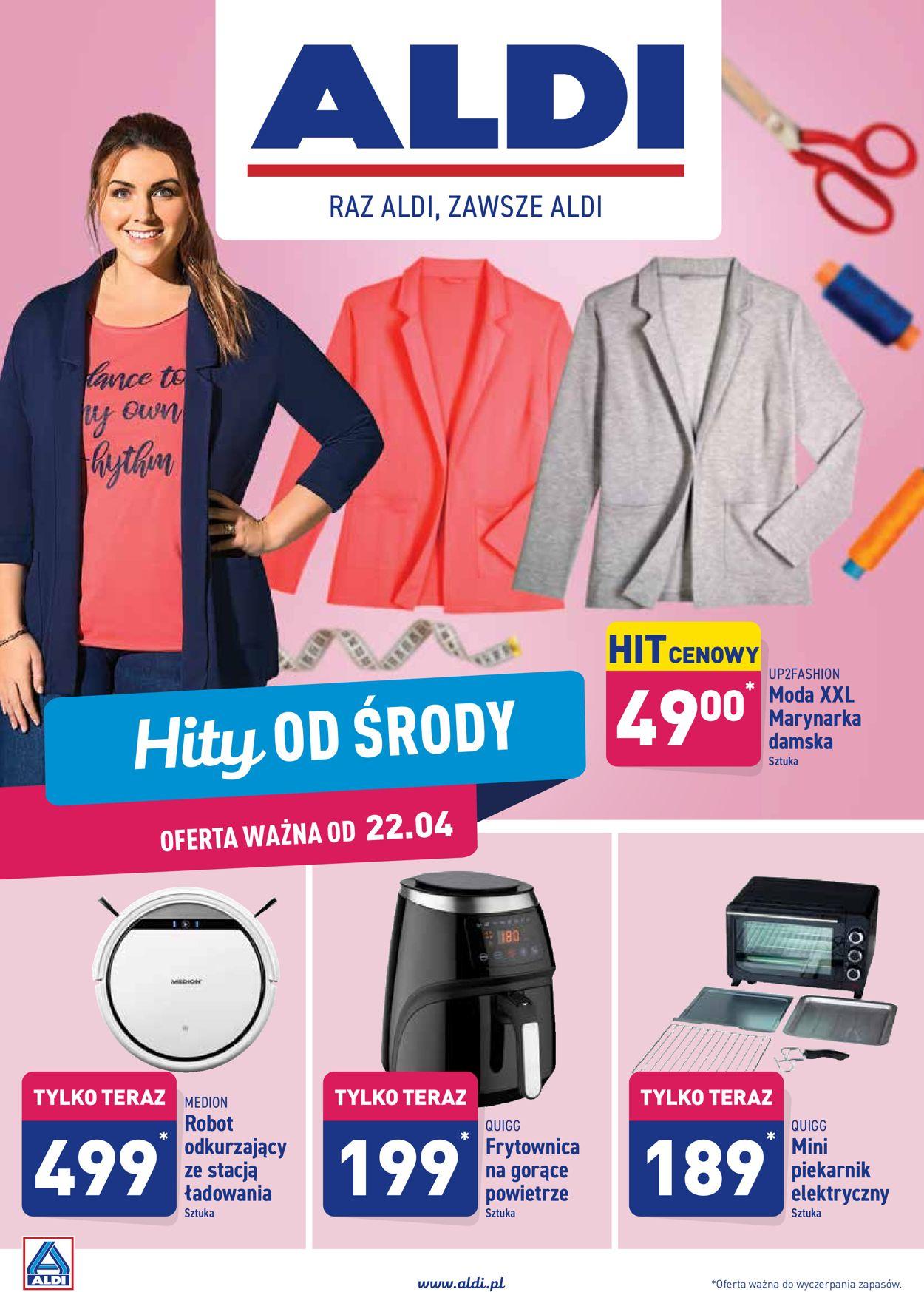 Gazetka promocyjna ALDI - 22.04-26.04.2020