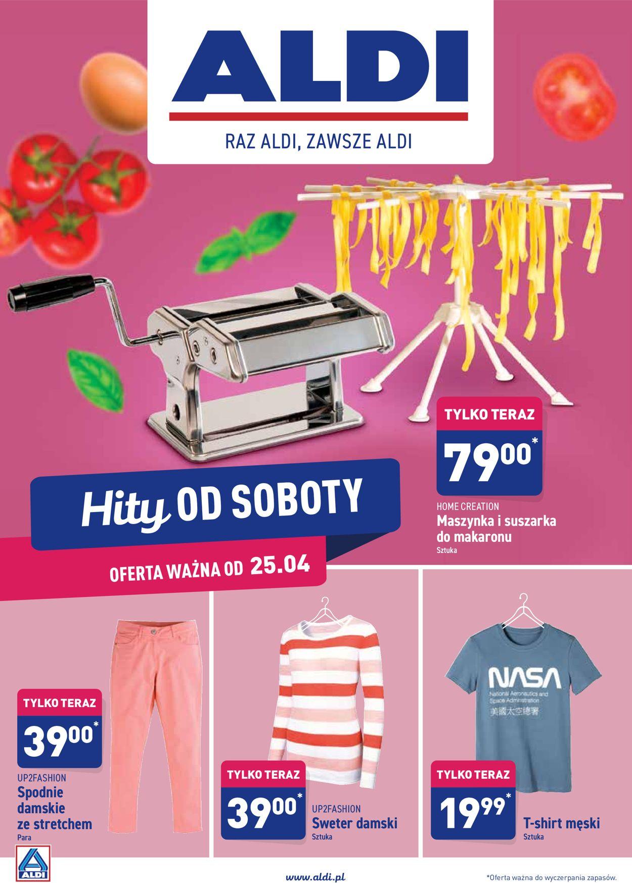 Gazetka promocyjna ALDI - 25.04-02.05.2020