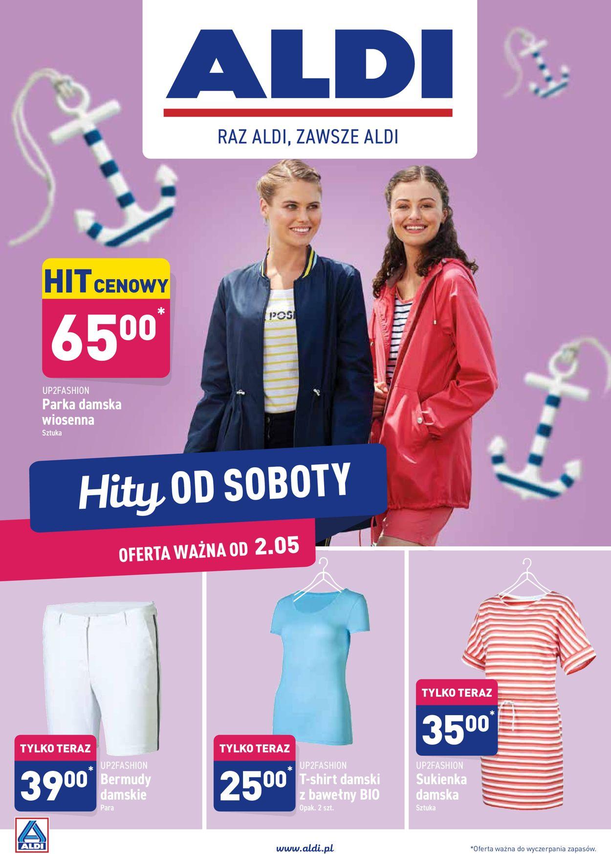Gazetka promocyjna ALDI - 02.05-09.05.2020