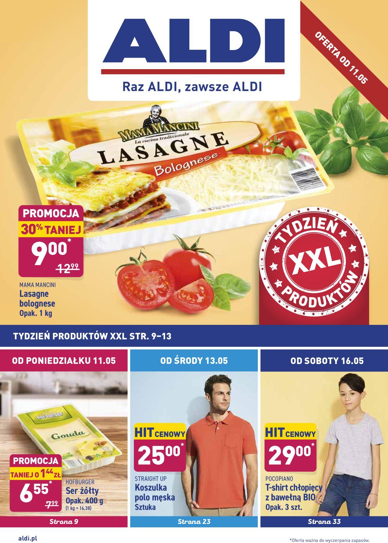 Gazetka promocyjna ALDI - 11.05-16.05.2020