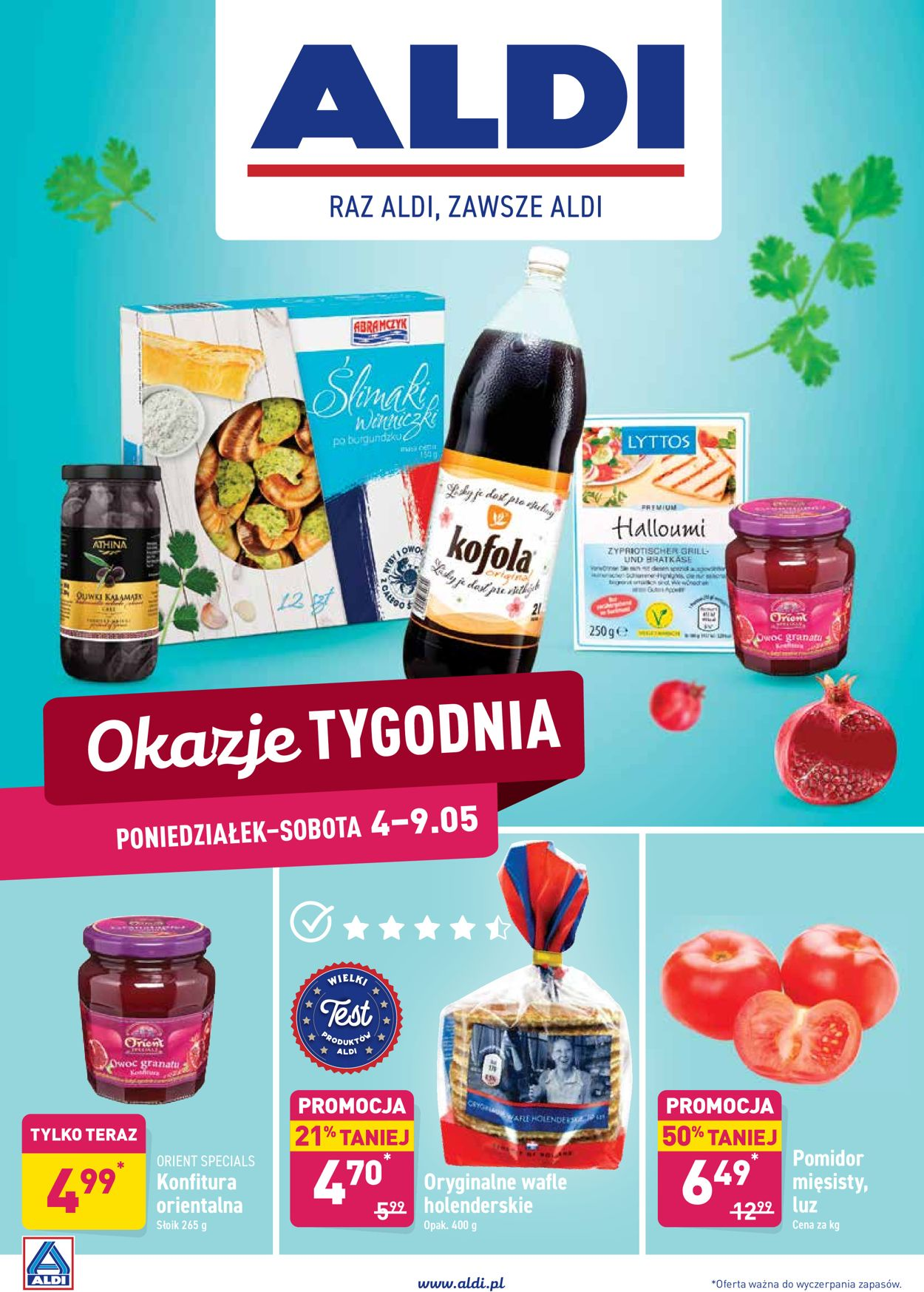 Gazetka promocyjna ALDI - 04.05-09.05.2020
