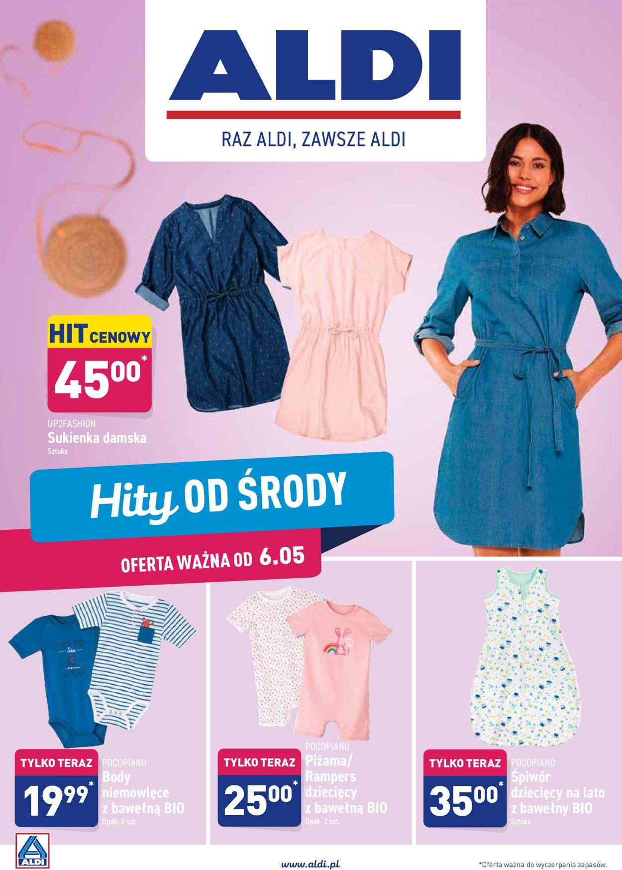 Gazetka promocyjna ALDI - 06.05-09.05.2020