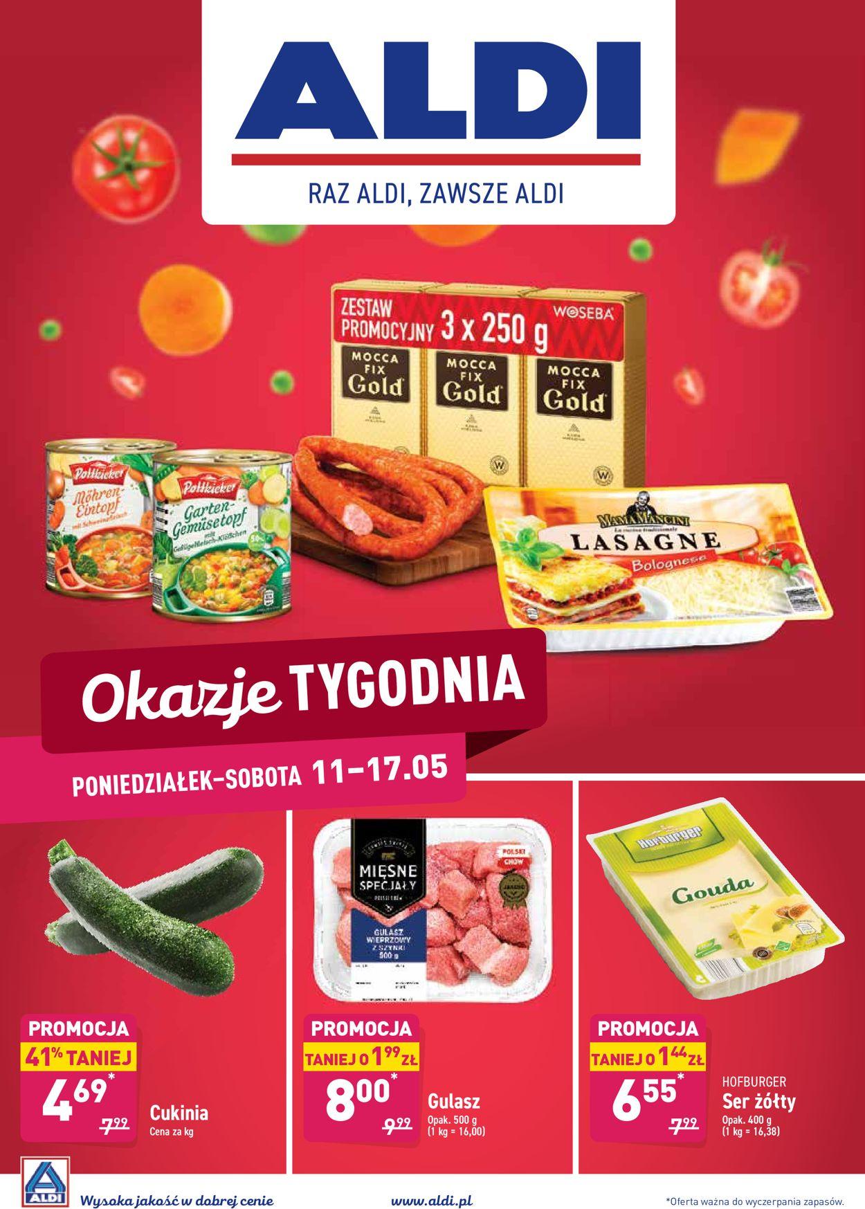 Gazetka promocyjna ALDI - 11.05-17.05.2020