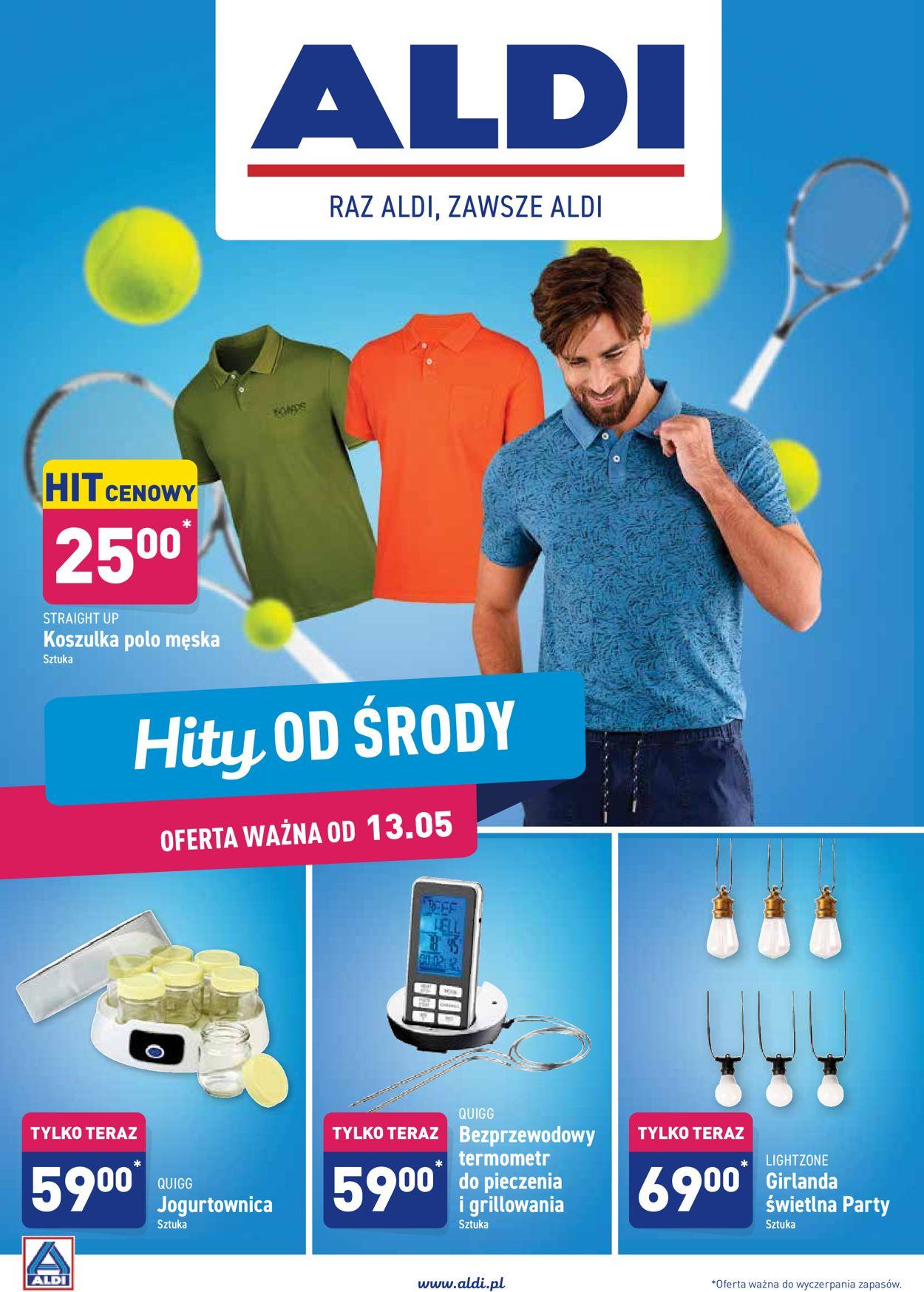 Gazetka promocyjna ALDI - 13.05-20.05.2020