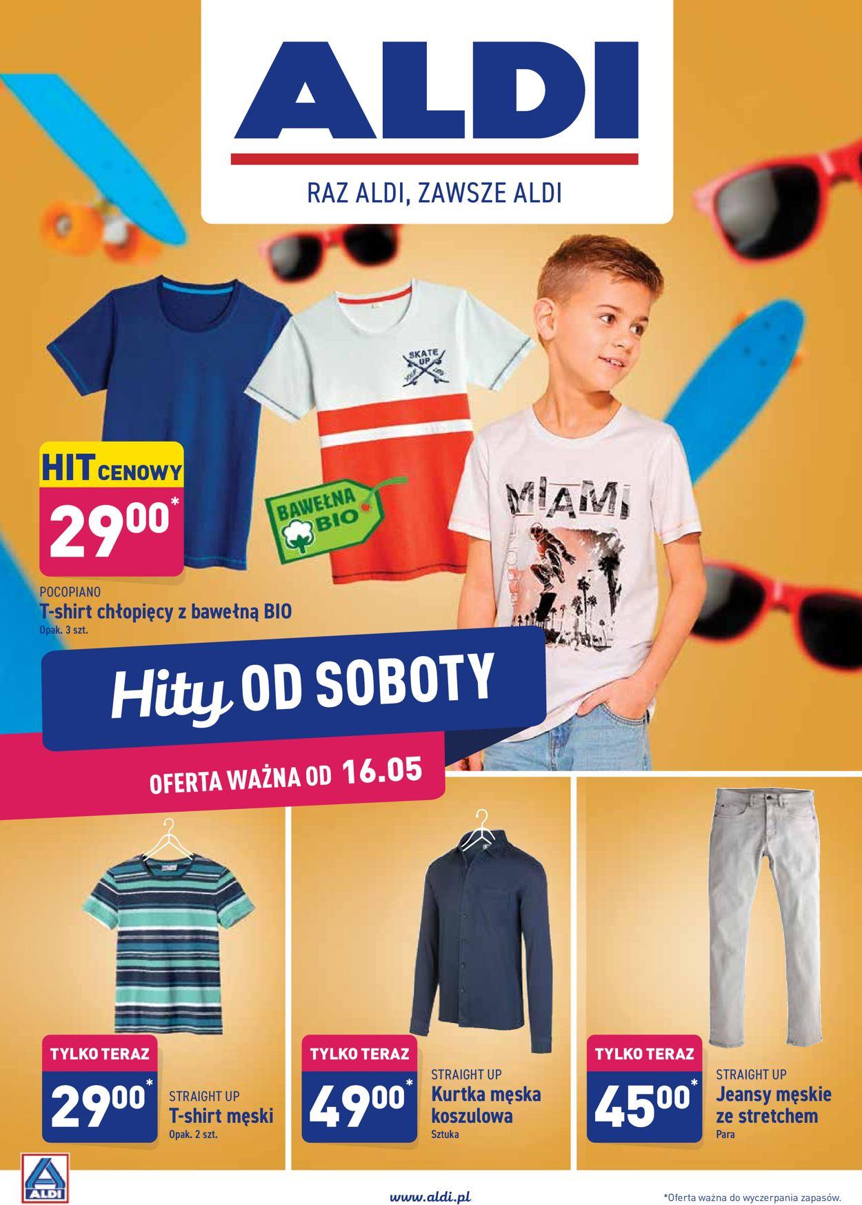 Gazetka promocyjna ALDI - 16.05-23.05.2020