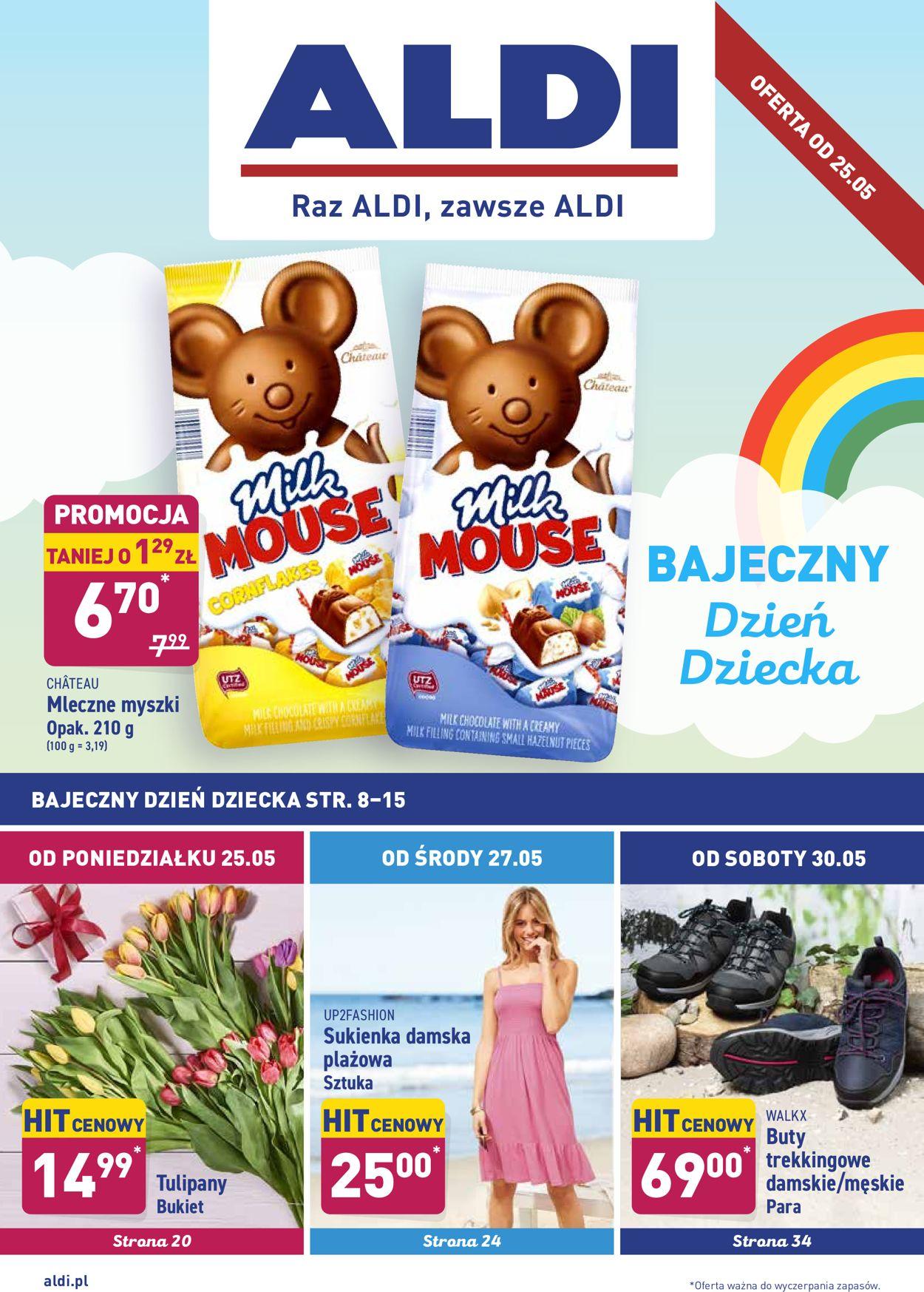 Gazetka promocyjna ALDI - 25.05-30.05.2020