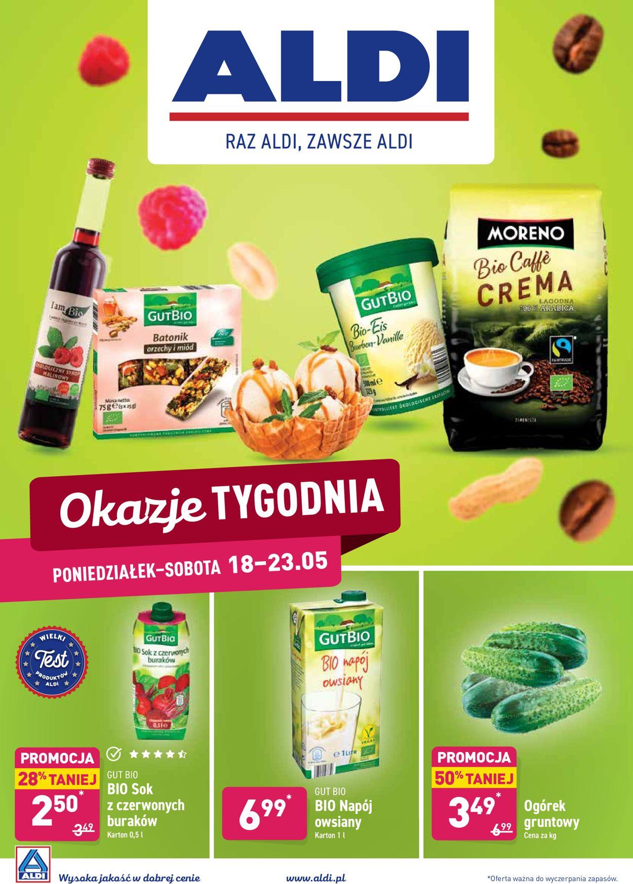 Gazetka promocyjna ALDI - 18.05-23.05.2020