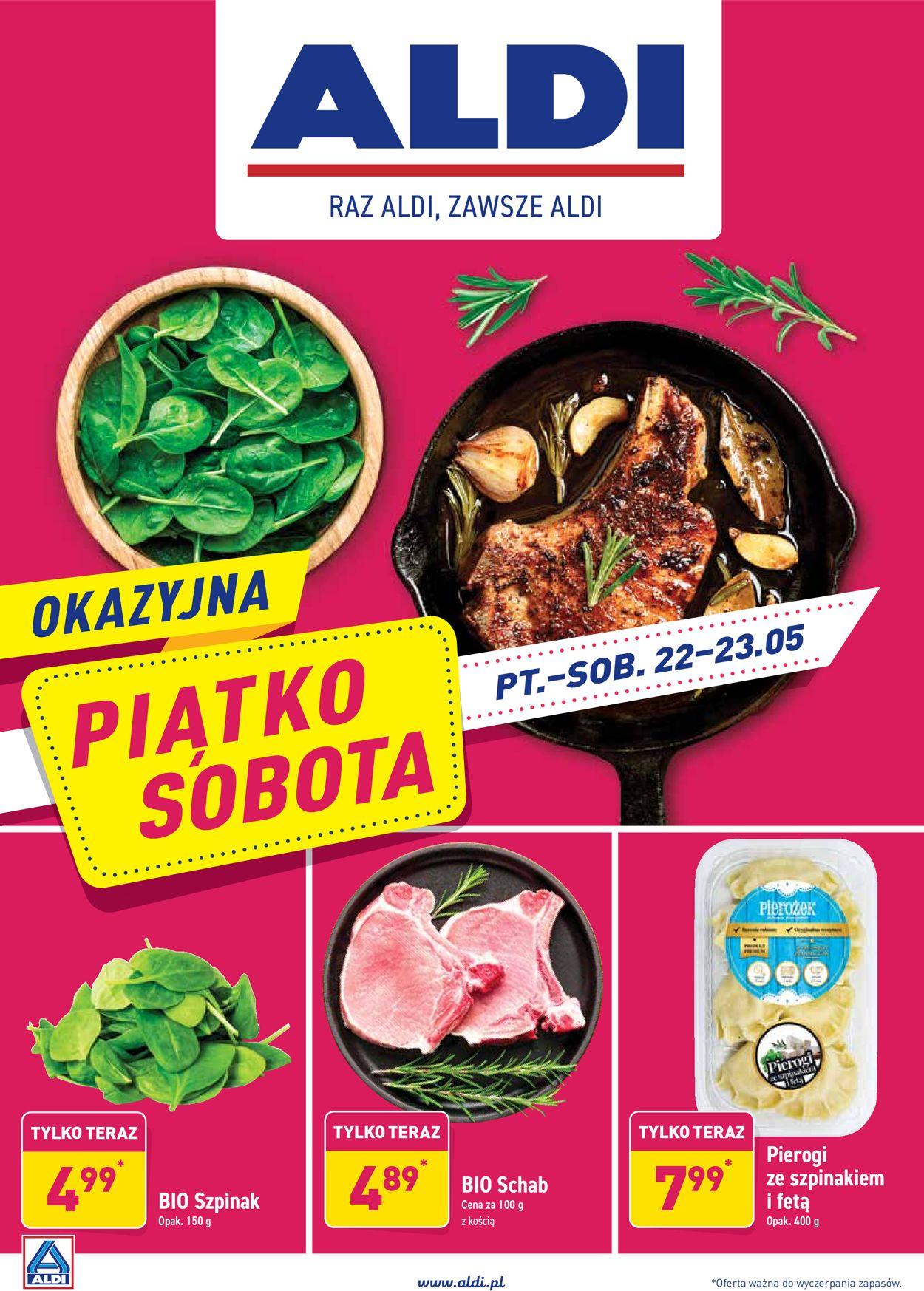 Gazetka promocyjna ALDI - 22.05-23.05.2020