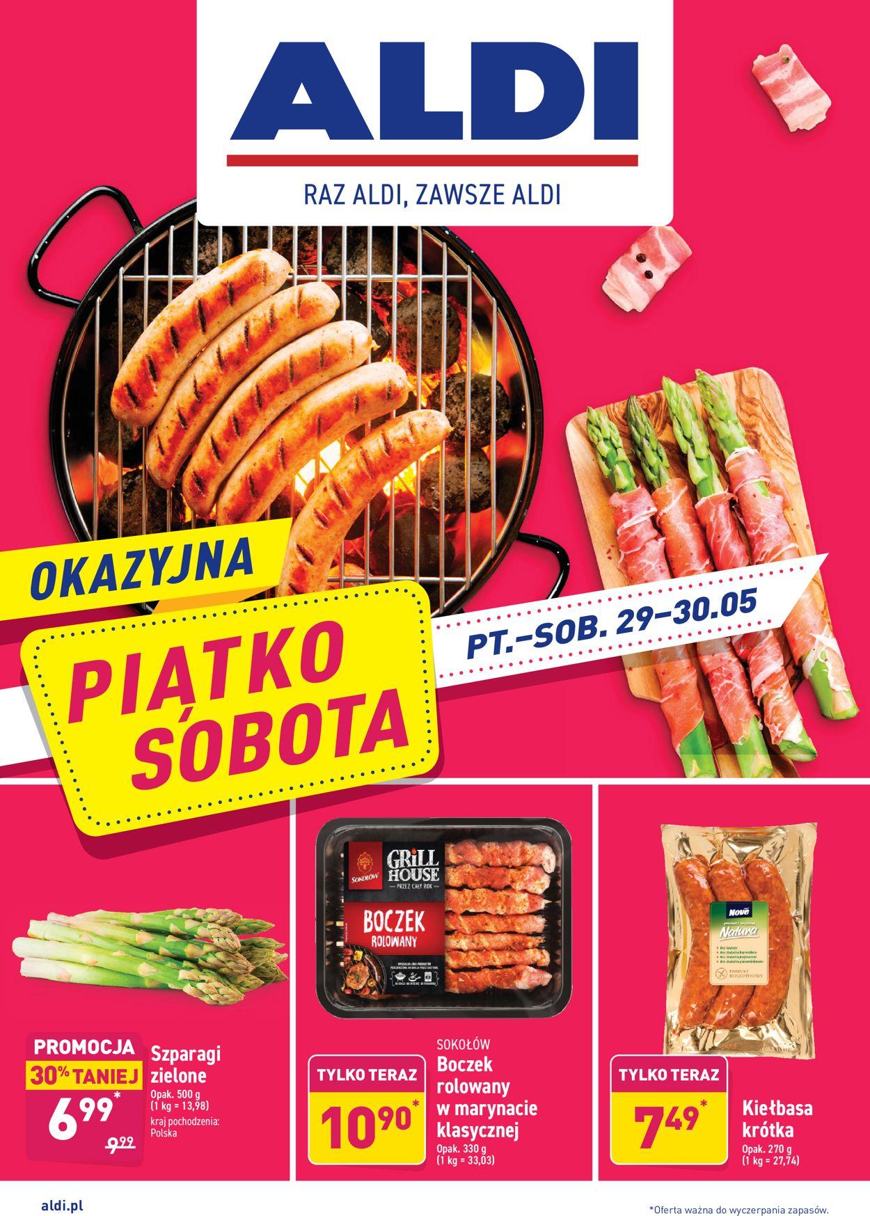 Gazetka promocyjna ALDI - 29.05-30.05.2020