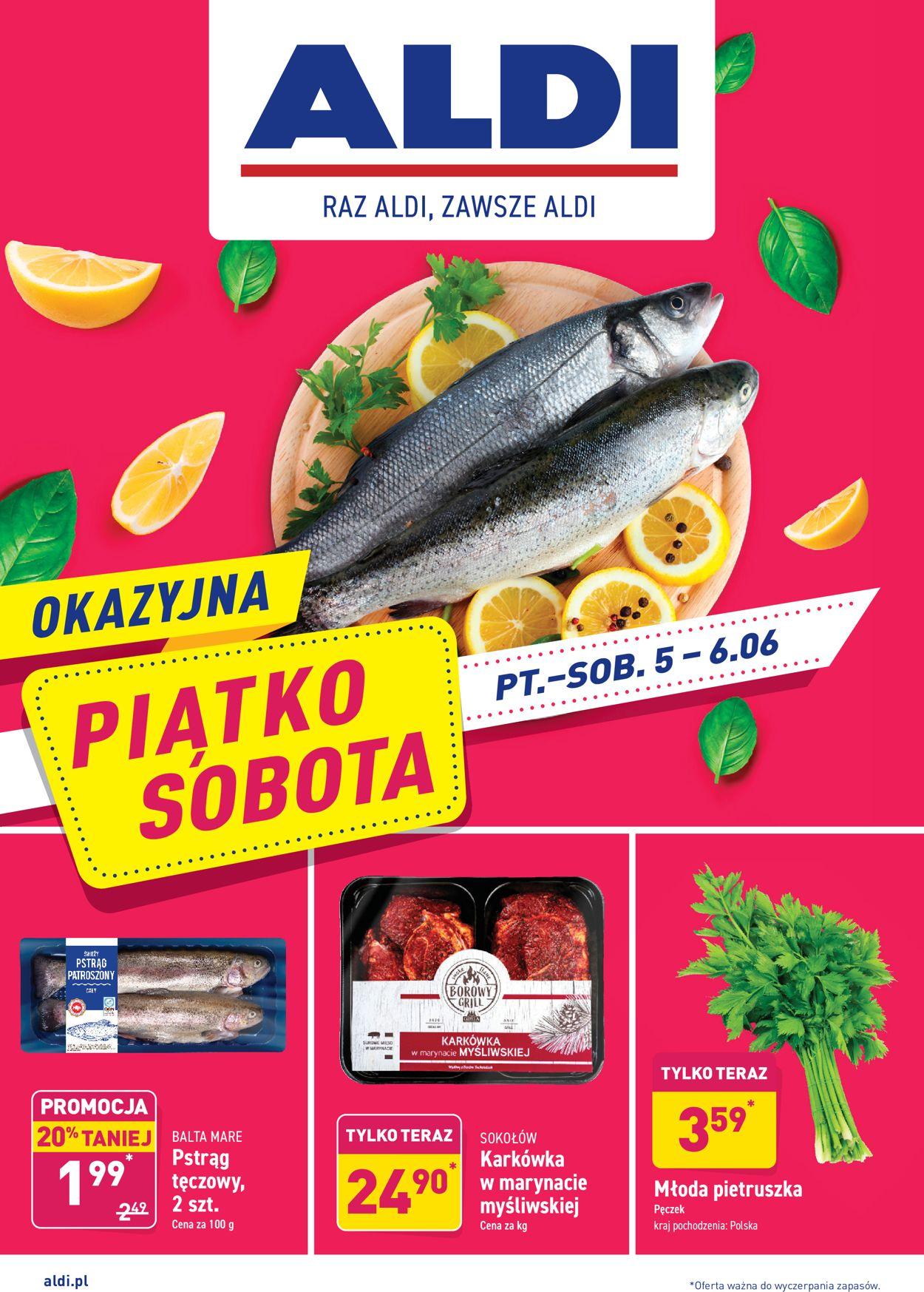 Gazetka promocyjna ALDI - 05.06-06.06.2020