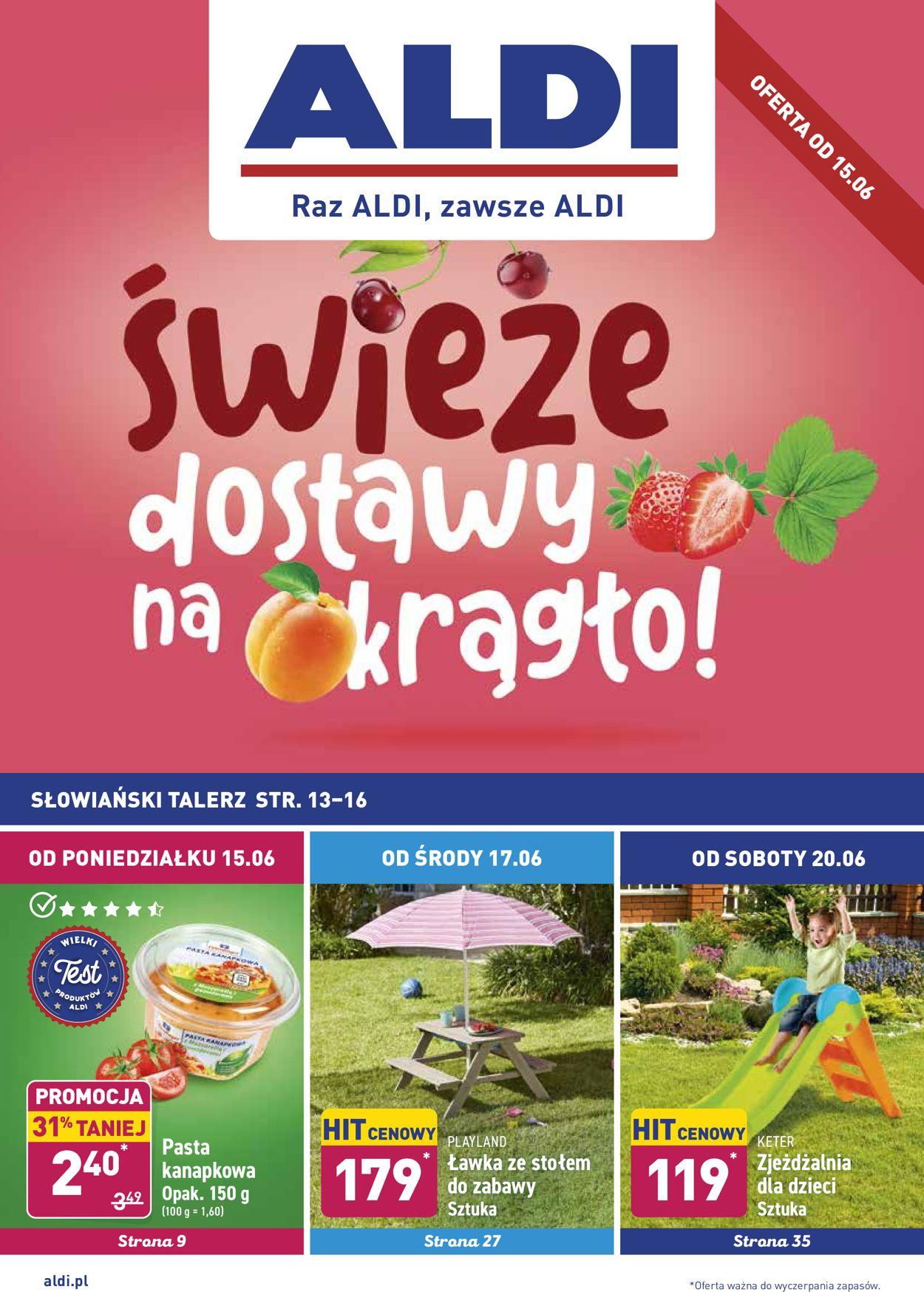 Gazetka promocyjna ALDI - 15.06-20.06.2020
