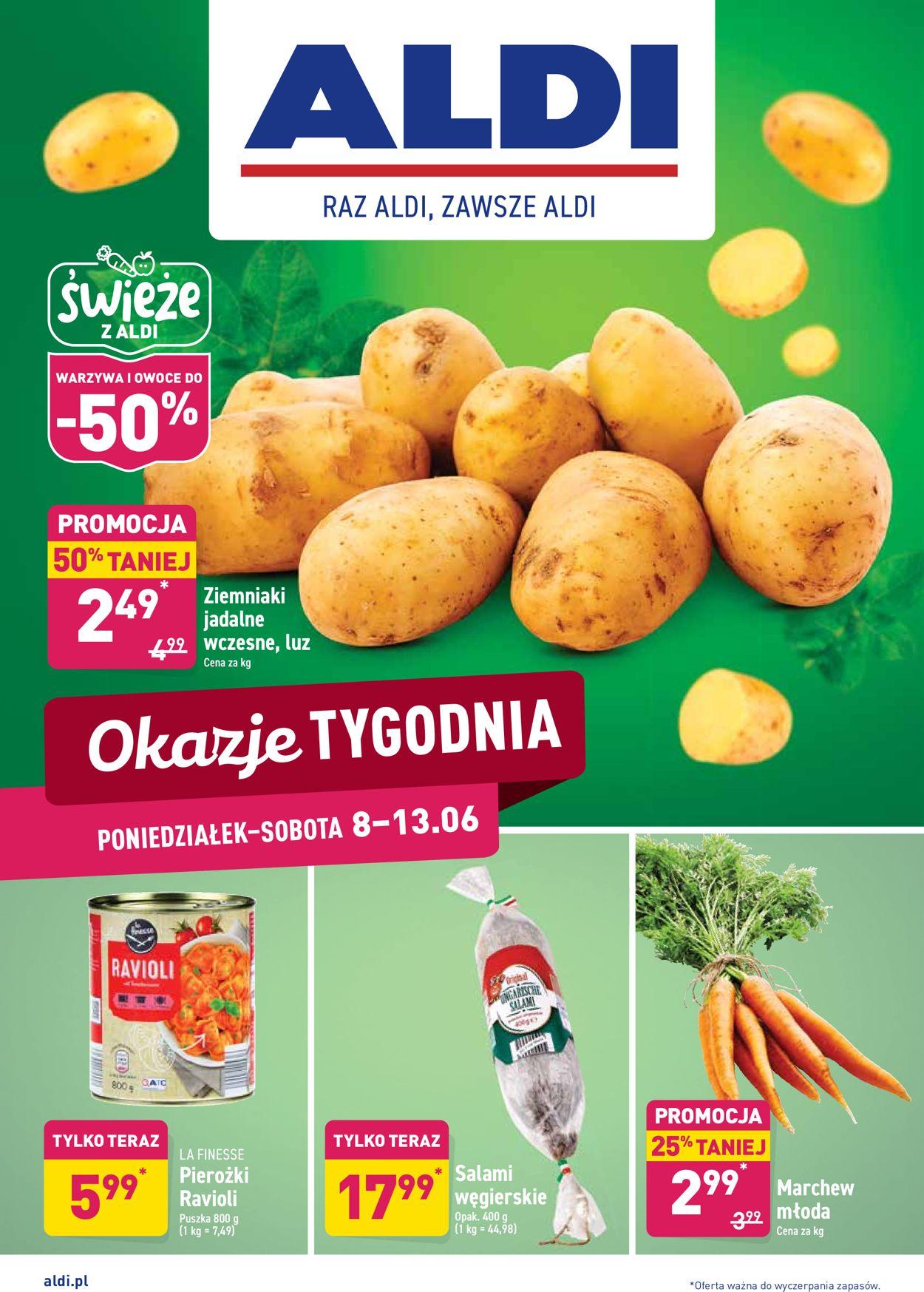 Gazetka promocyjna ALDI - 08.06-14.06.2020