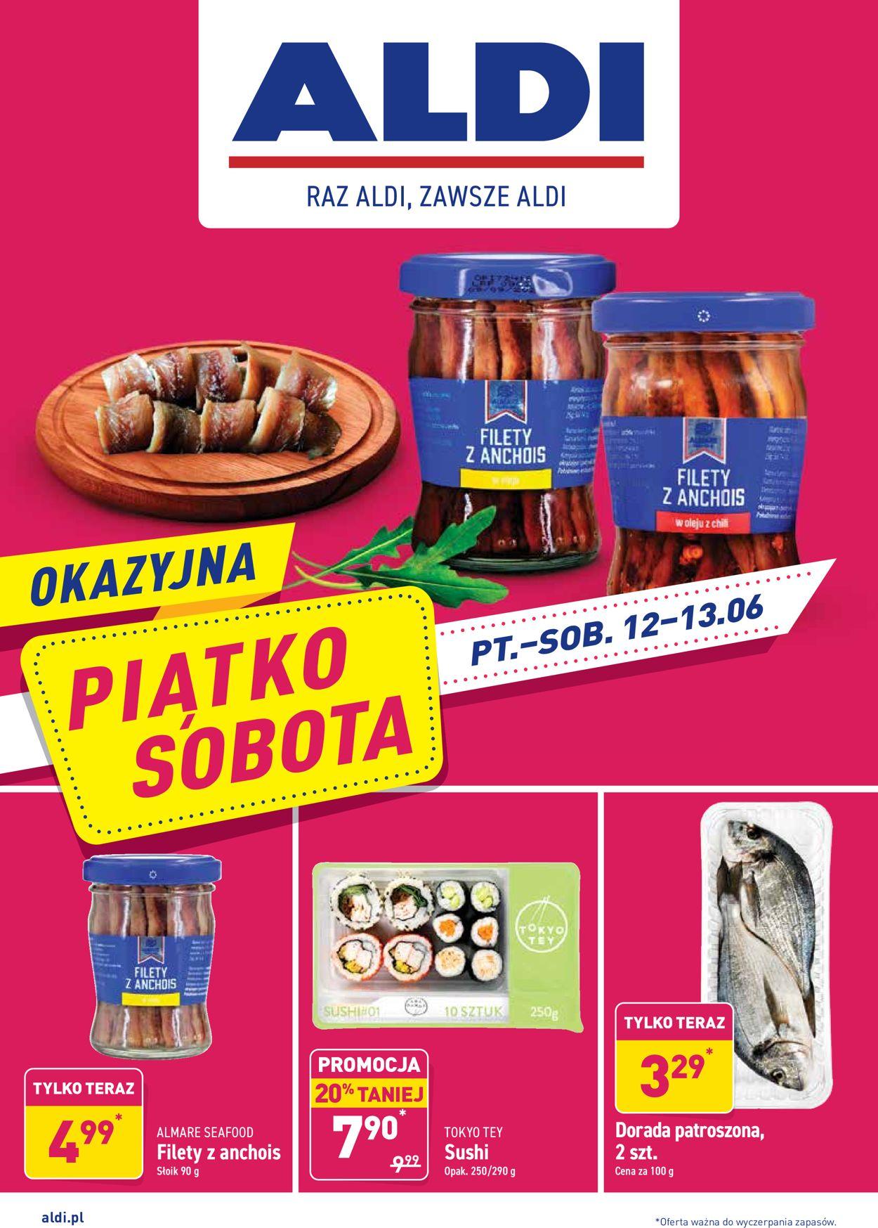 Gazetka promocyjna ALDI - 12.06-13.06.2020