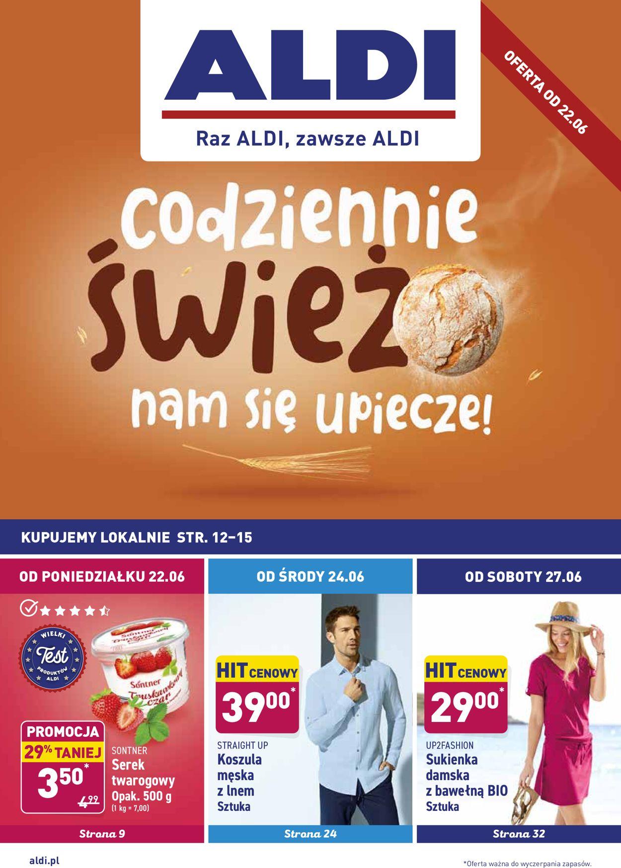 Gazetka promocyjna ALDI - 22.06-27.06.2020