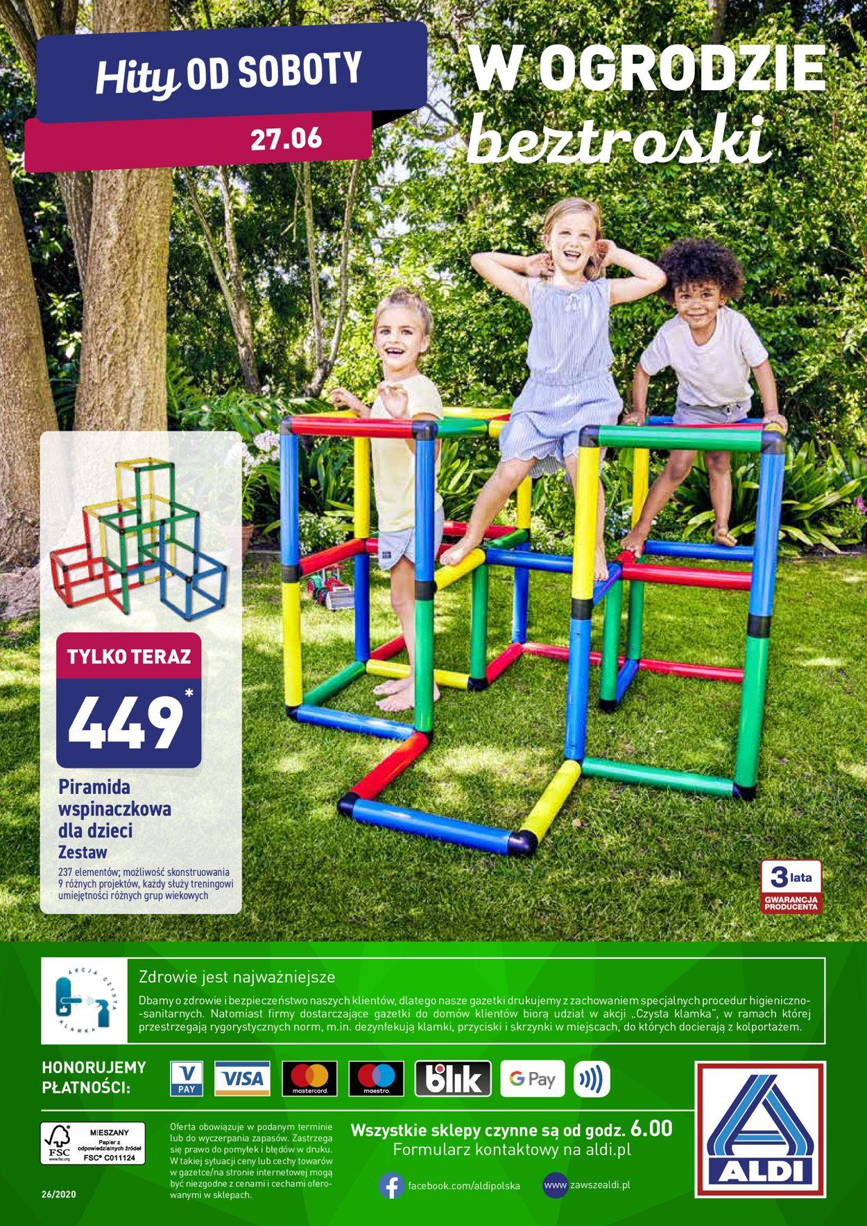 Gazetka promocyjna ALDI - 22.06-27.06.2020 (Strona 36)