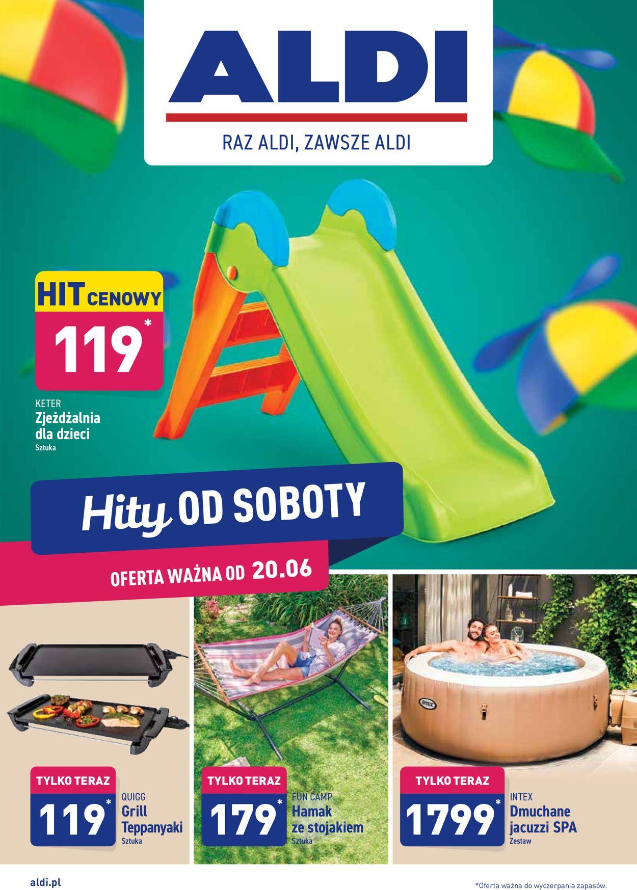 Gazetka promocyjna ALDI - 20.06-26.06.2020