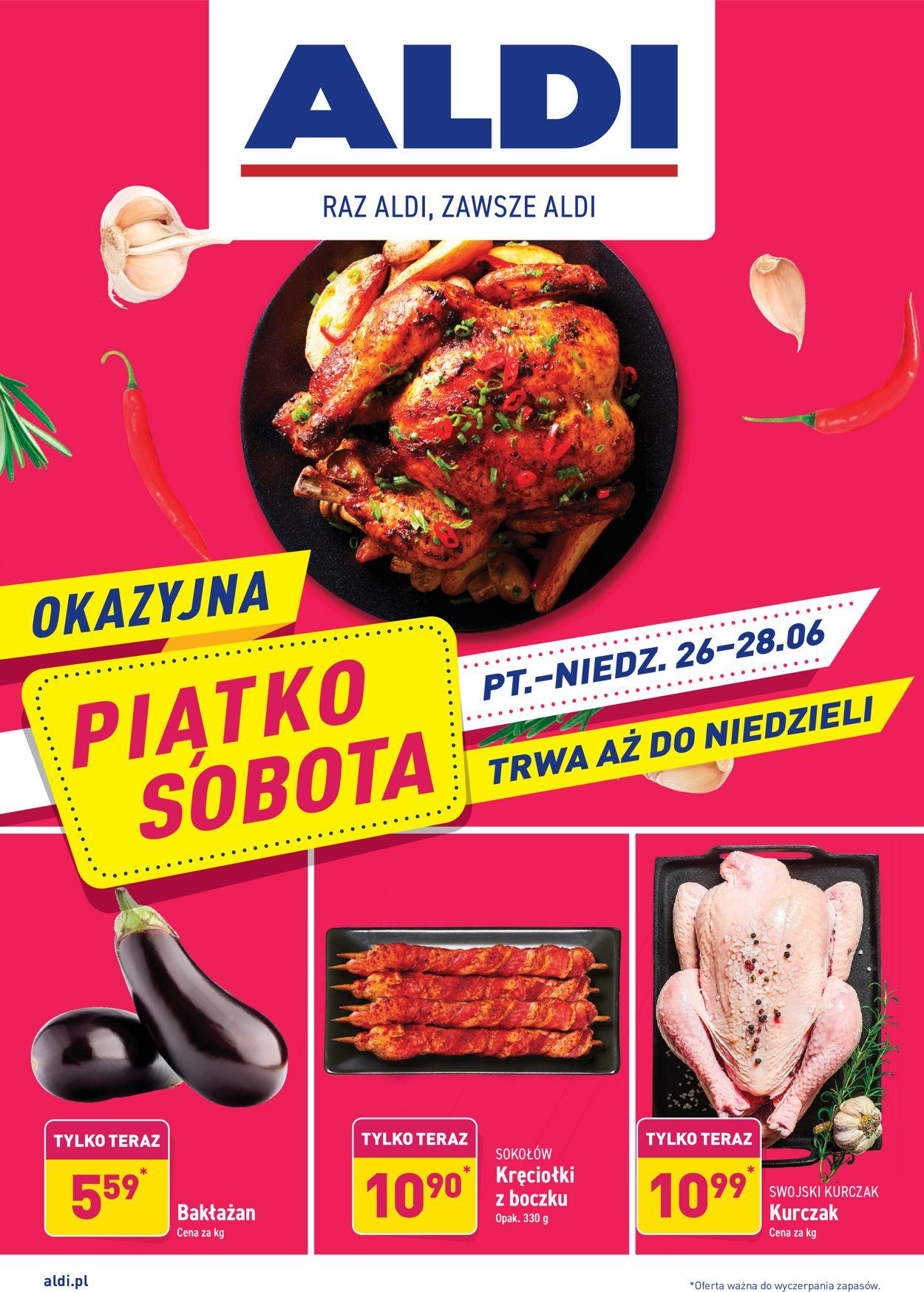 Gazetka promocyjna ALDI - 26.06-28.06.2020