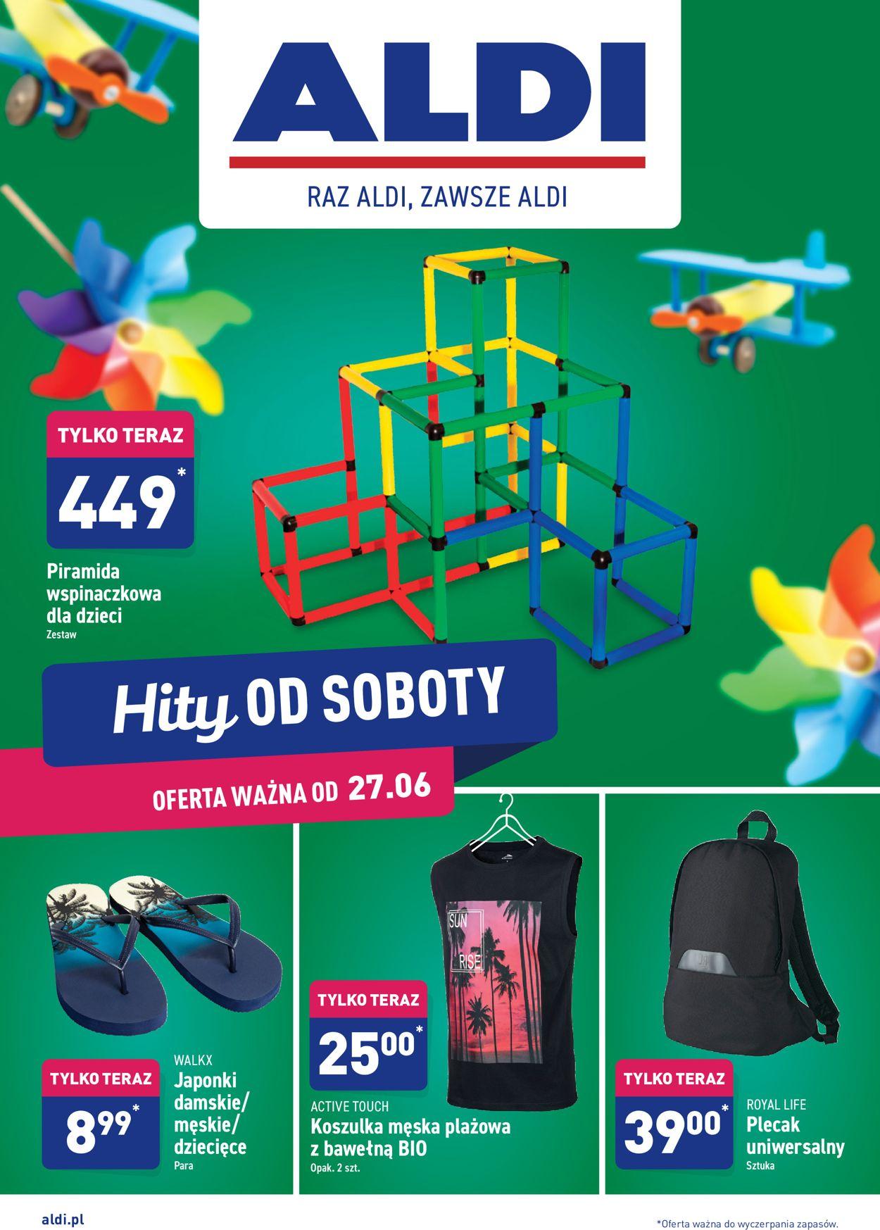 Gazetka promocyjna ALDI - 27.06-04.07.2020