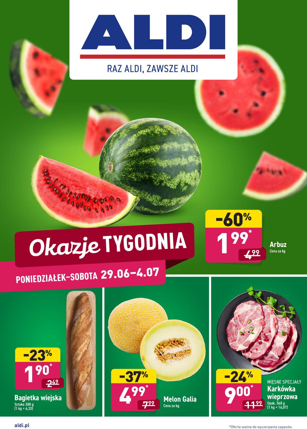 Gazetka promocyjna ALDI - 29.06-04.07.2020