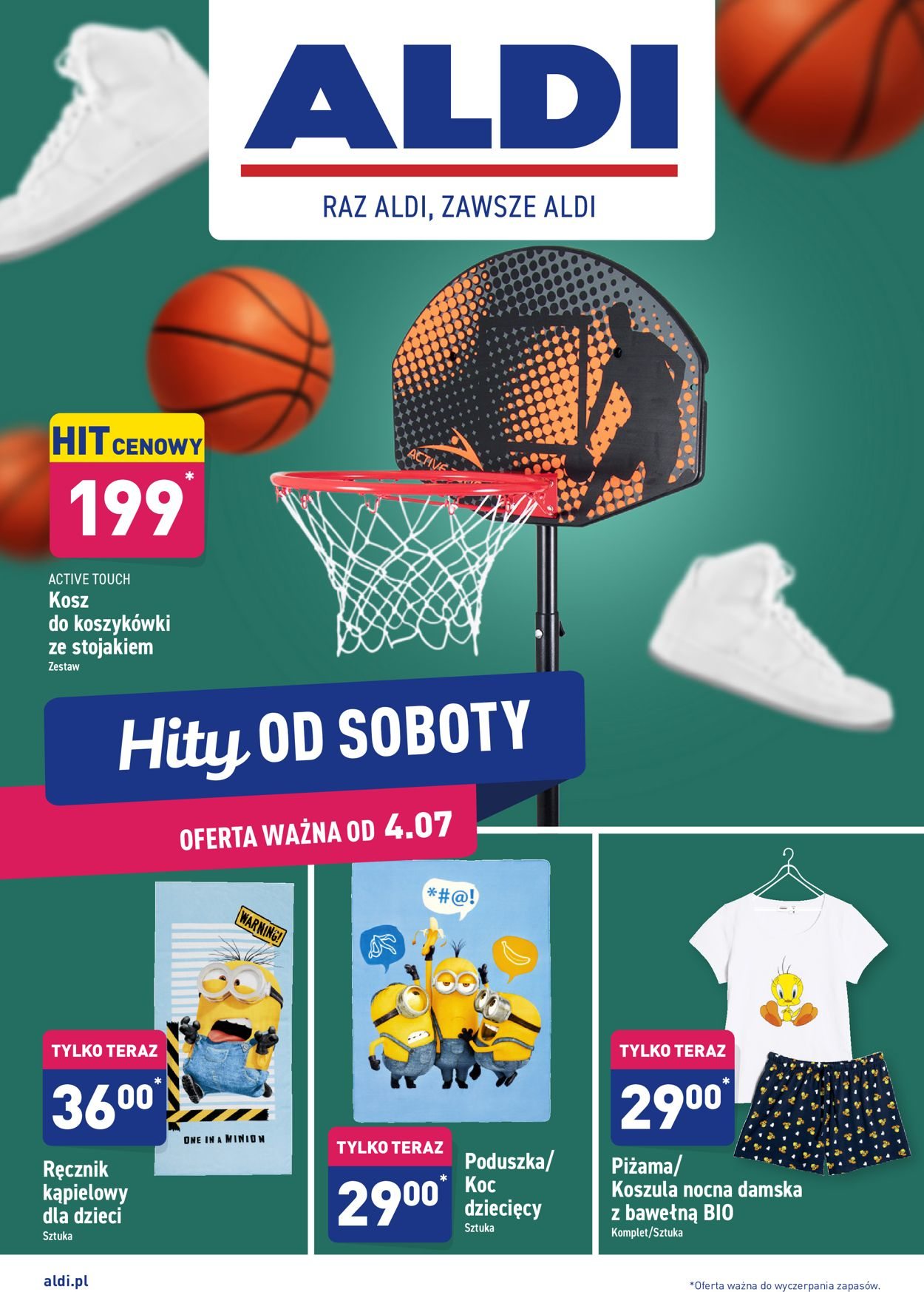 Gazetka promocyjna ALDI - 04.07-10.07.2020