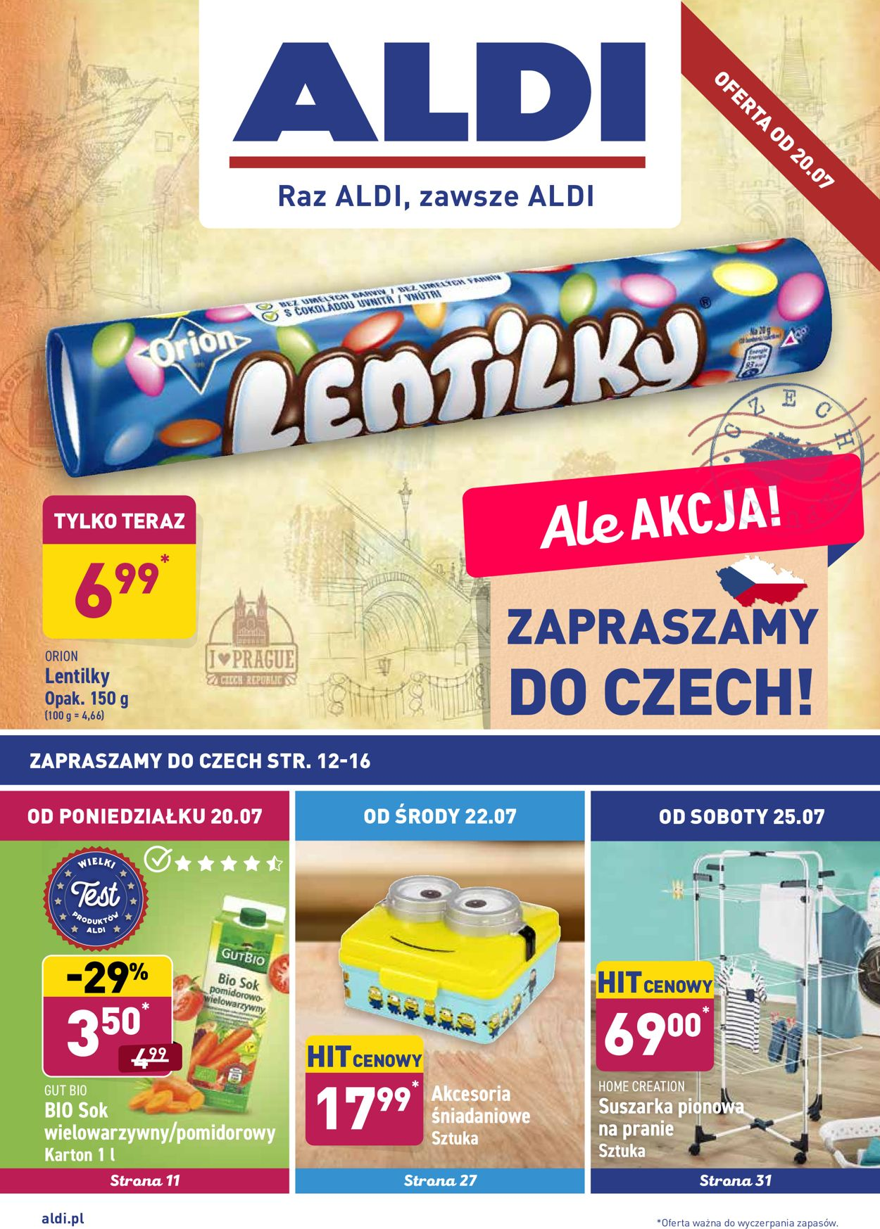 Gazetka promocyjna ALDI - 20.07-25.07.2020