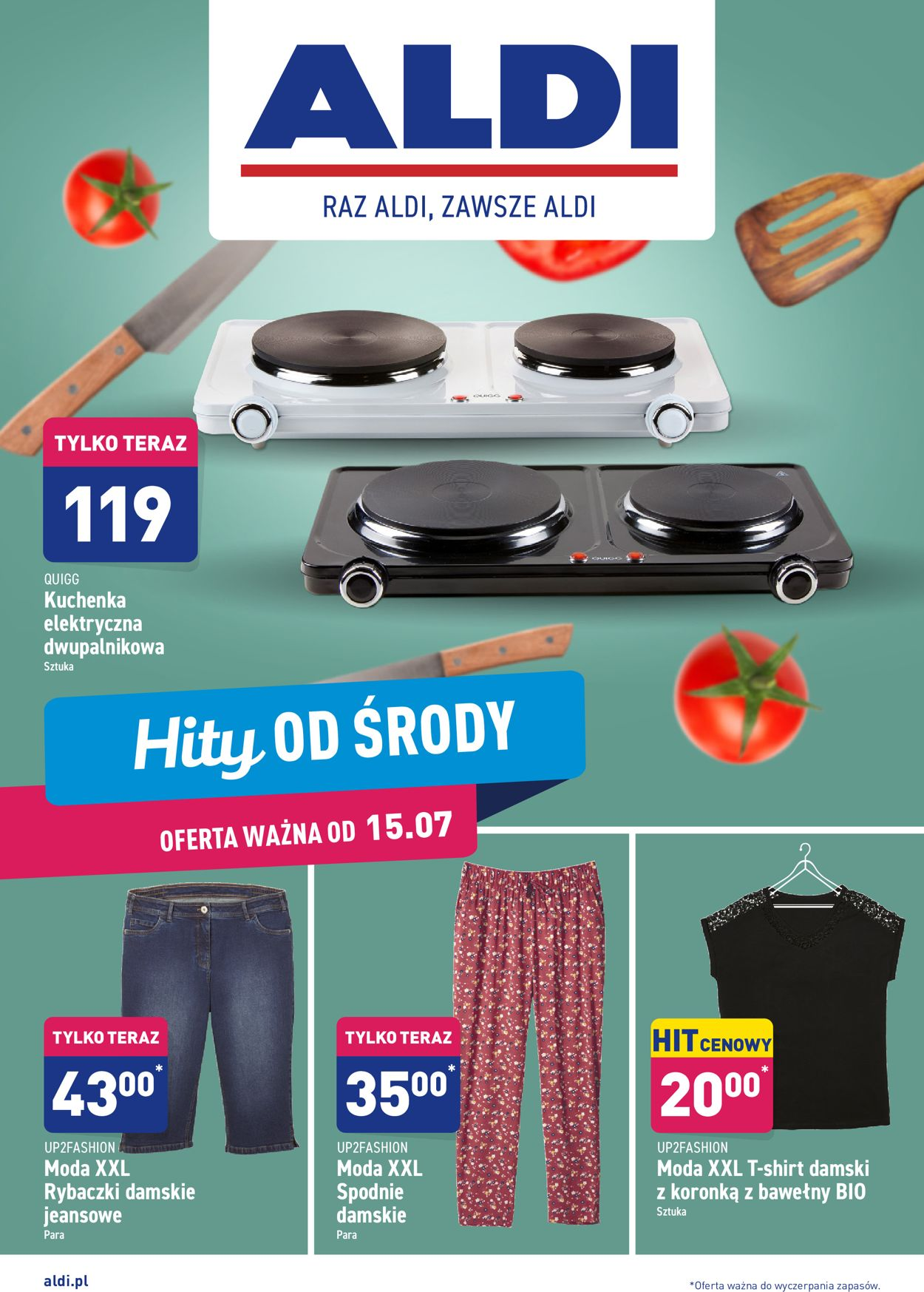 Gazetka promocyjna ALDI - 15.07-21.07.2020