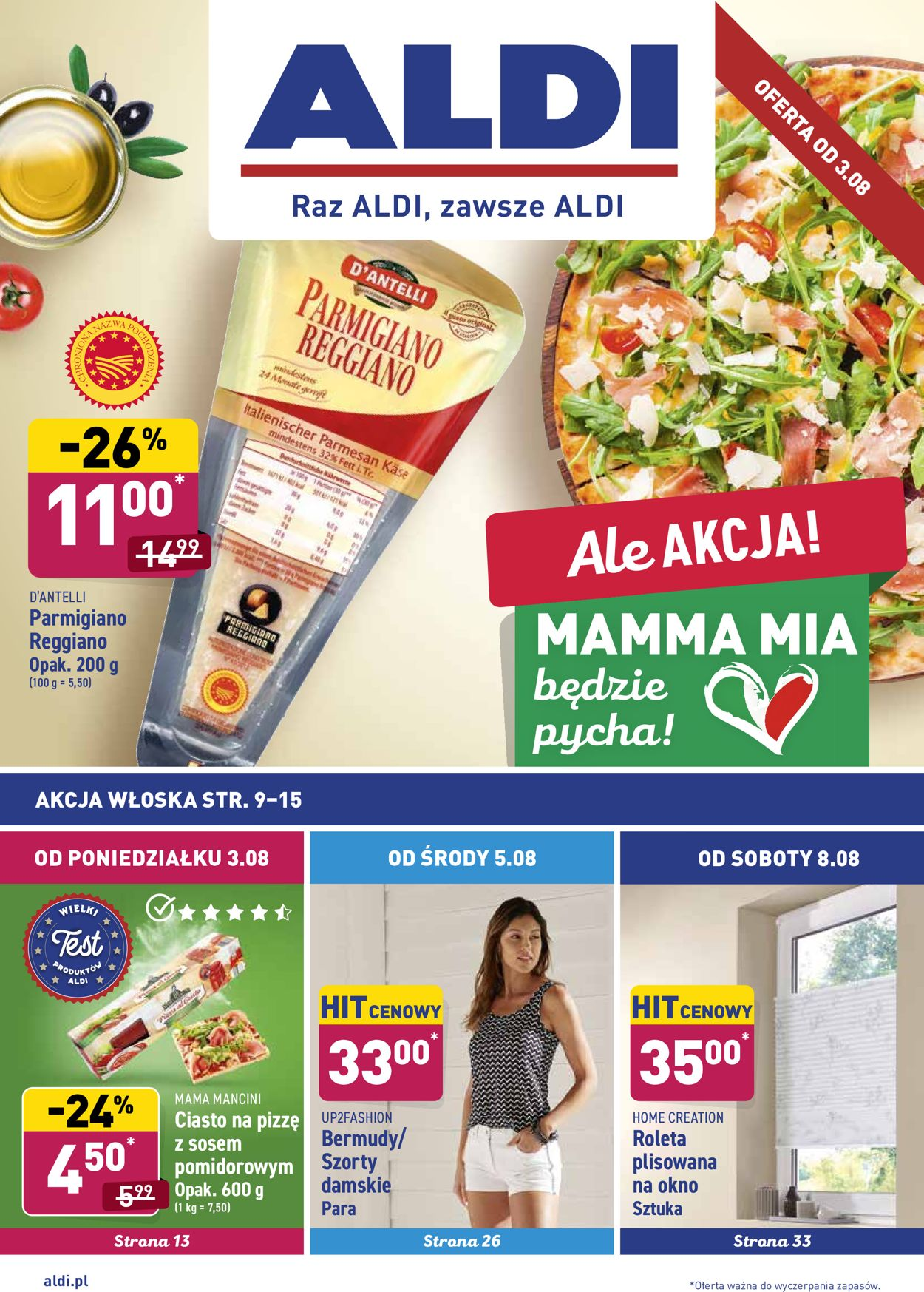 Gazetka promocyjna ALDI - 03.08-08.08.2020