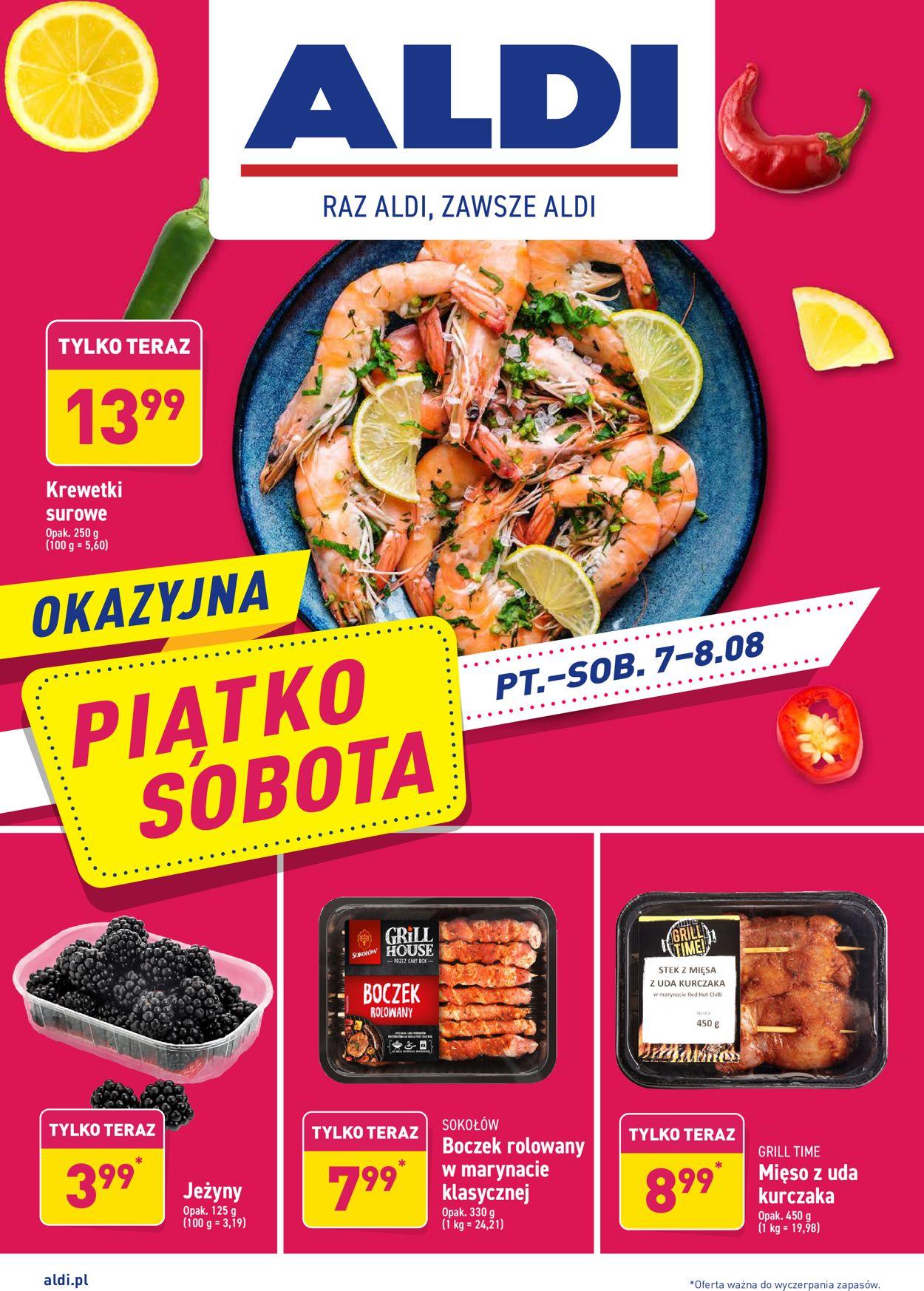 Gazetka promocyjna ALDI - 07.08-08.08.2020