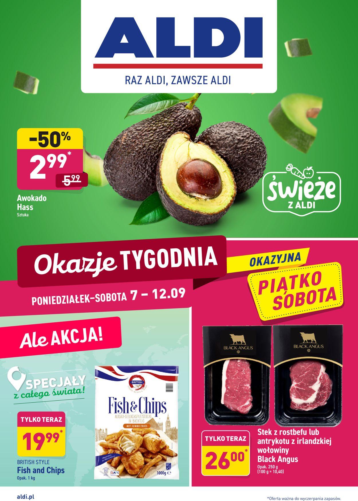 Gazetka promocyjna ALDI - 07.09-12.09.2020