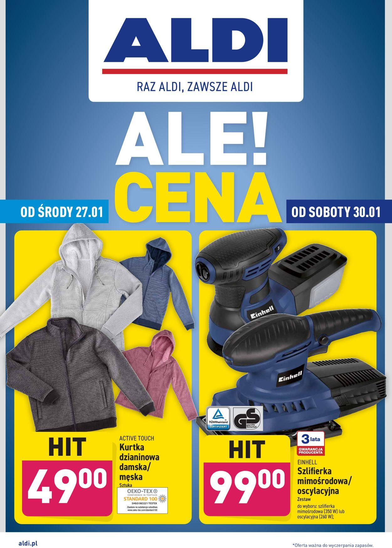 Gazetka promocyjna ALDI - 27.01-31.01.2021