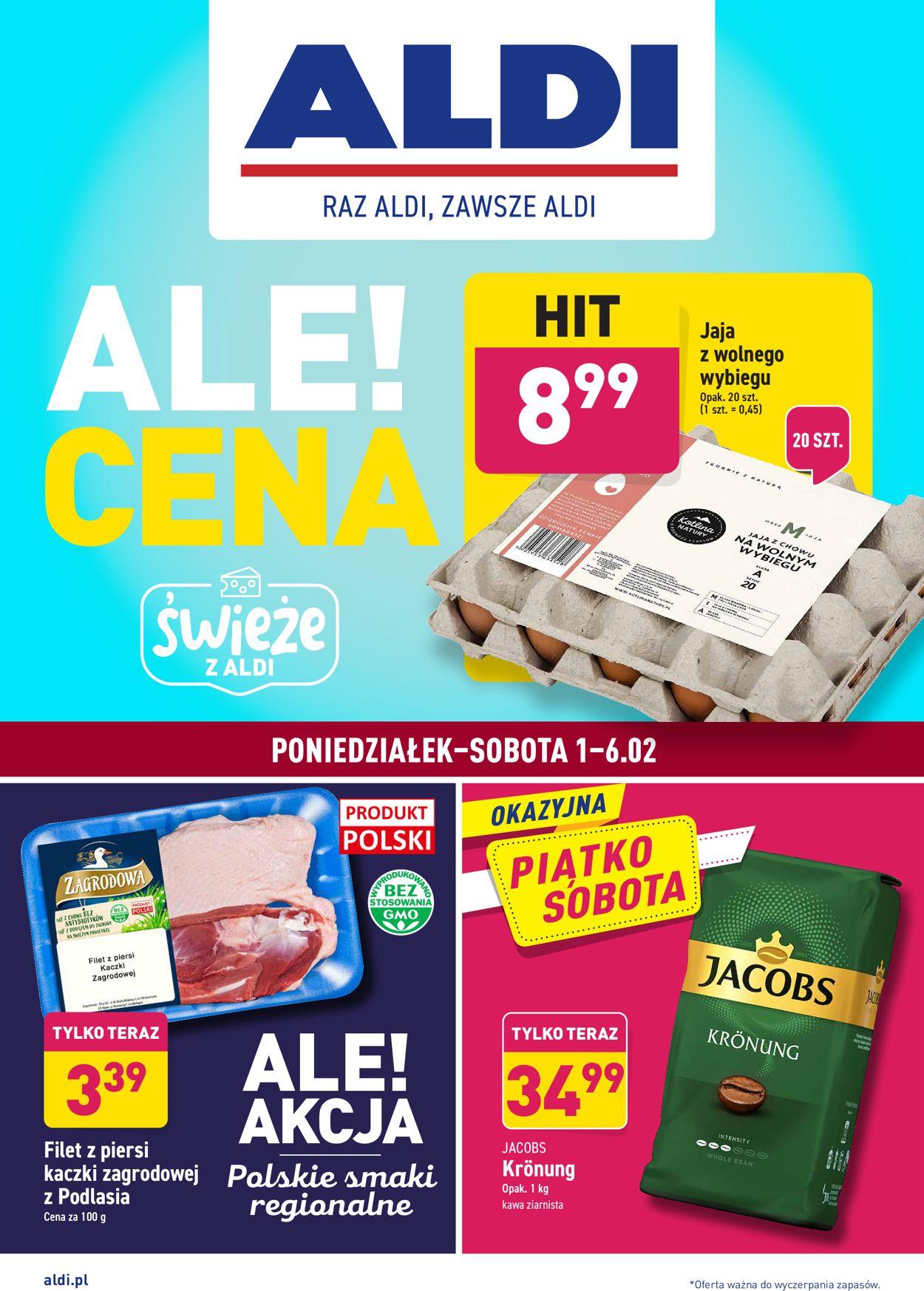 Gazetka promocyjna ALDI - 01.02-06.02.2021