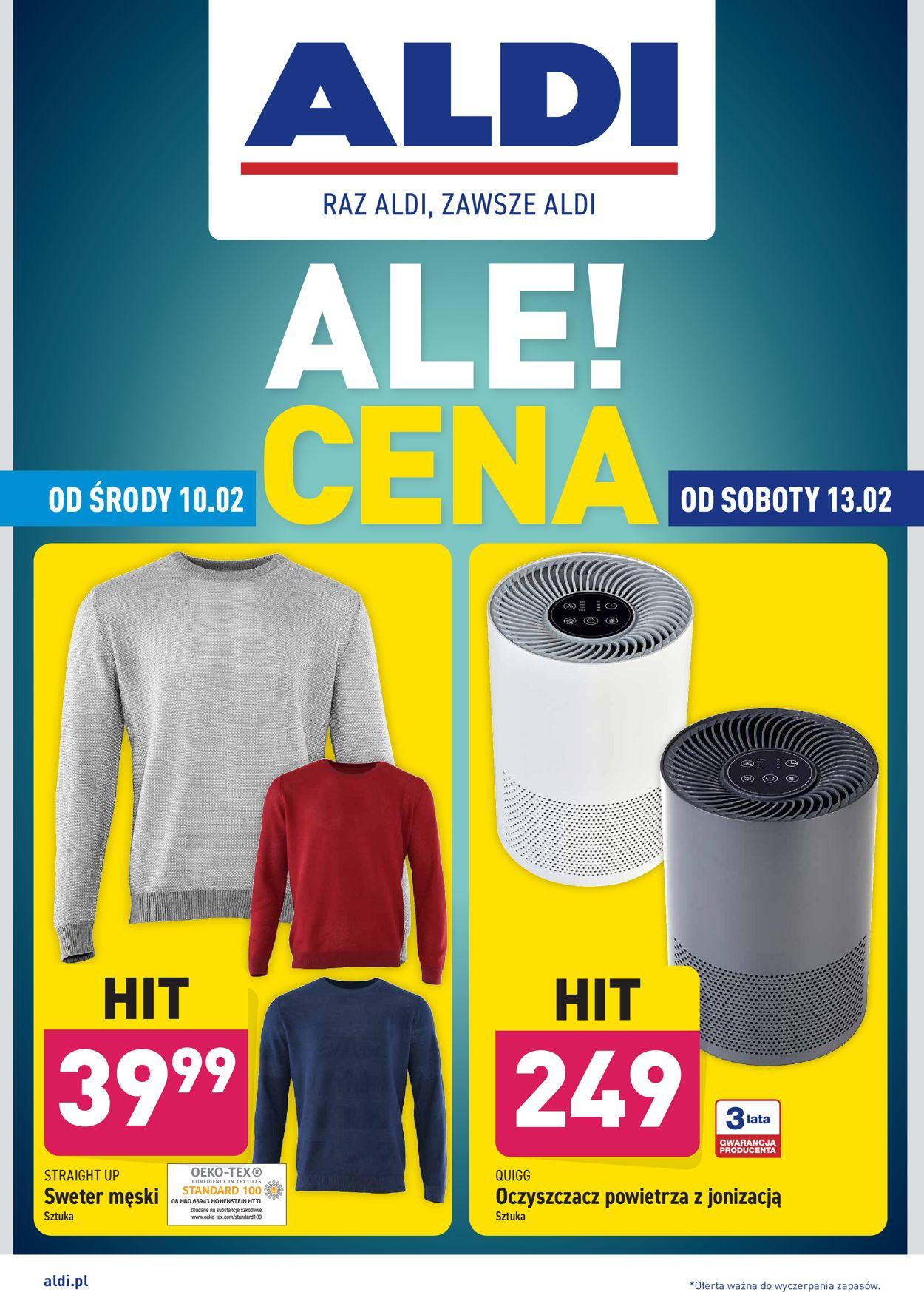 Gazetka promocyjna ALDI - 10.02-13.02.2021