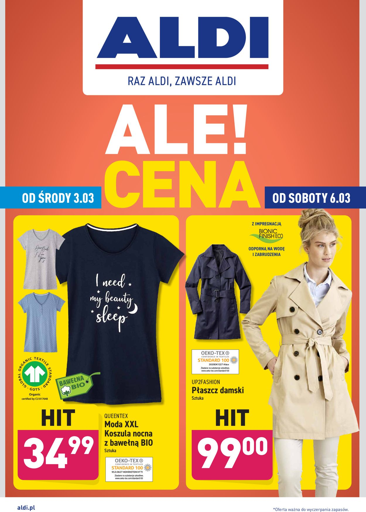 Gazetka promocyjna ALDI - 03.03-06.03.2021