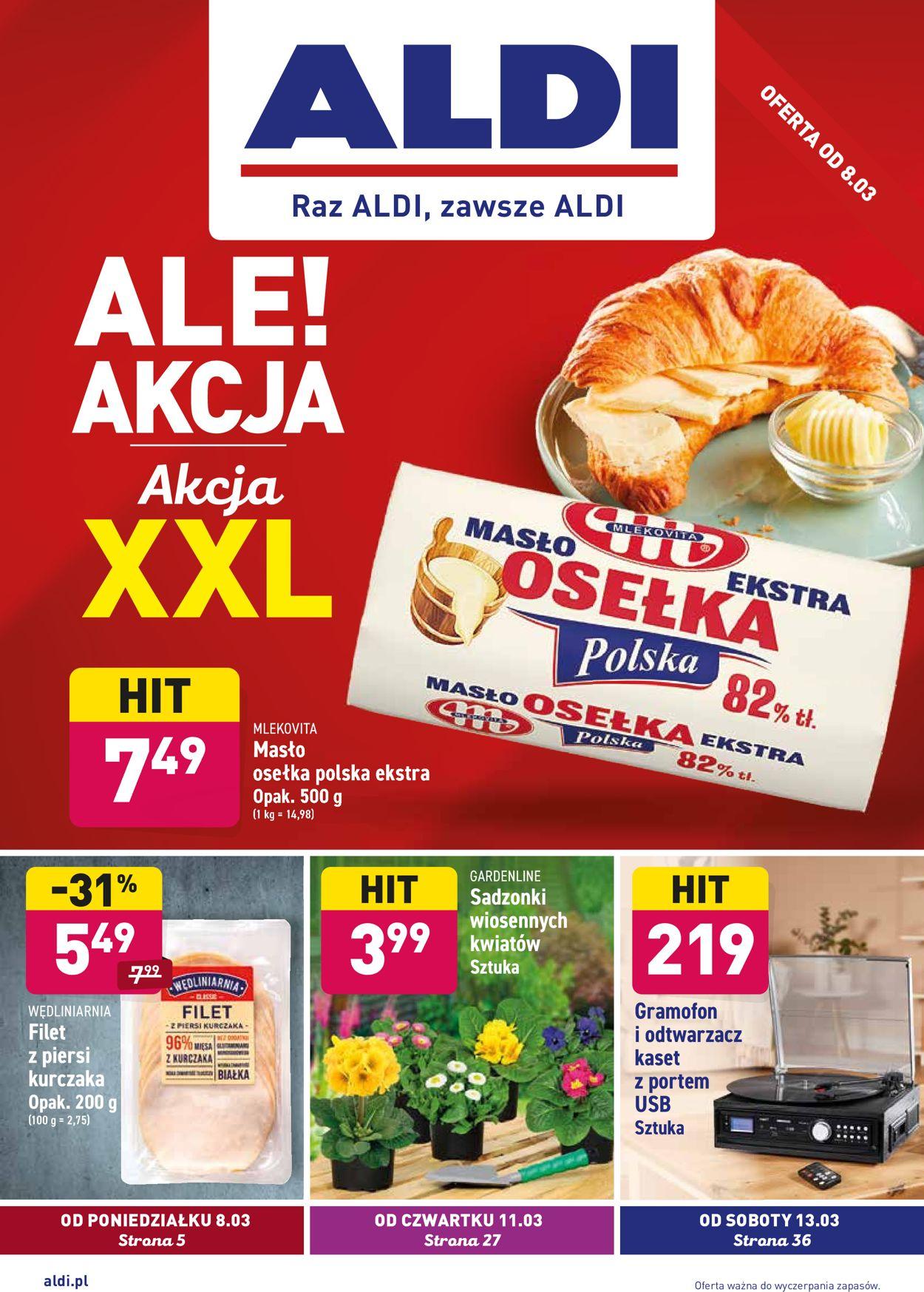Gazetka promocyjna ALDI - 08.03-13.03.2021