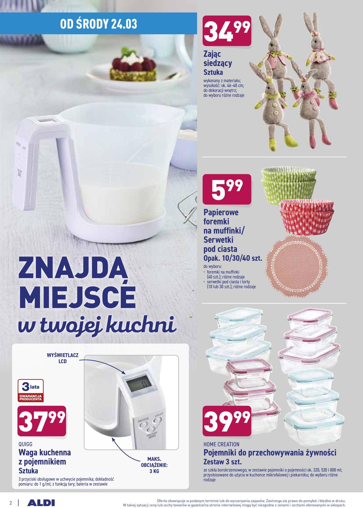 Gazetka promocyjna ALDI - 24.03-28.03.2021 (Strona 2)