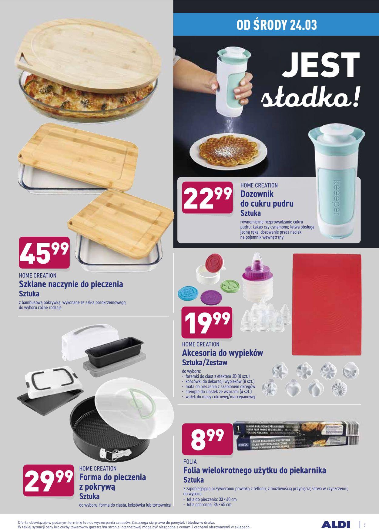Gazetka promocyjna ALDI - 24.03-28.03.2021 (Strona 3)