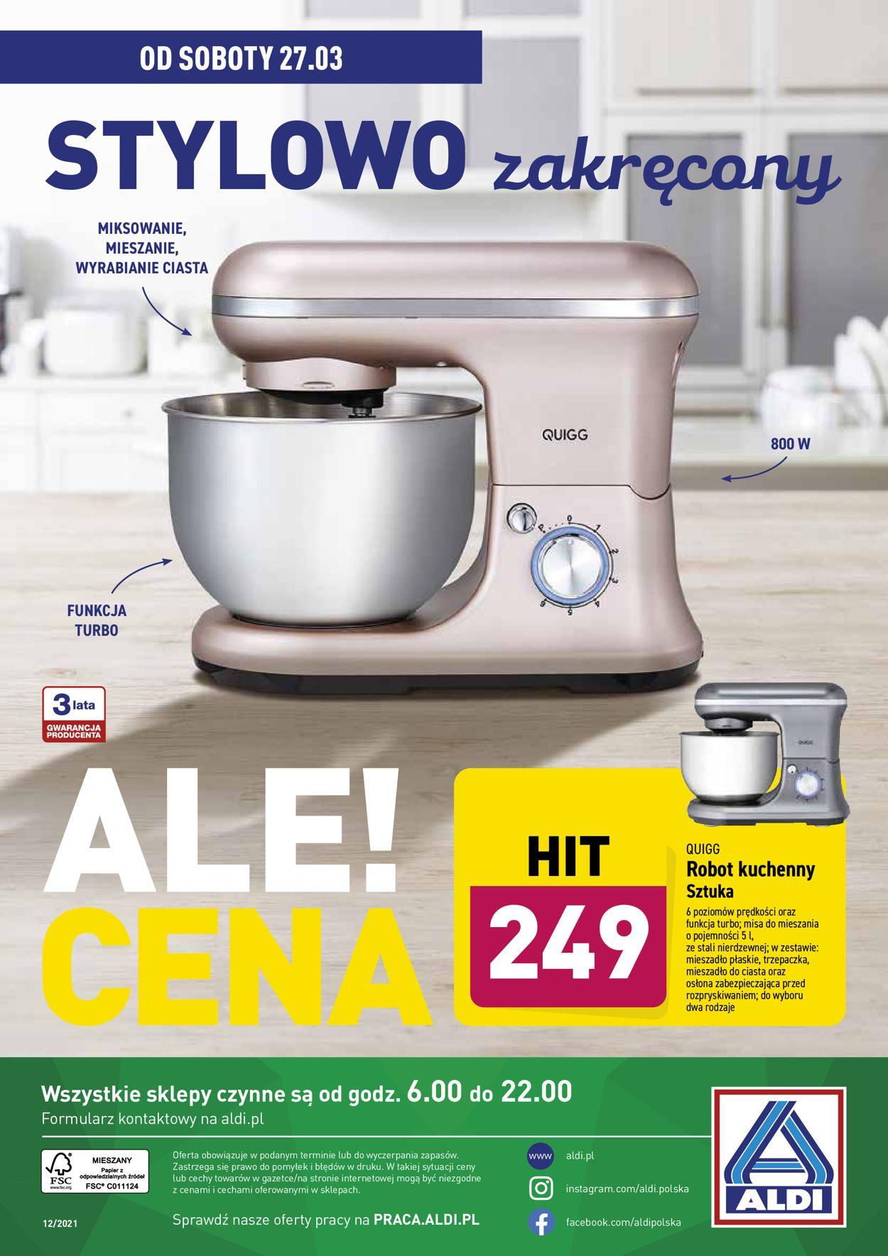 Gazetka promocyjna ALDI - 24.03-28.03.2021 (Strona 14)