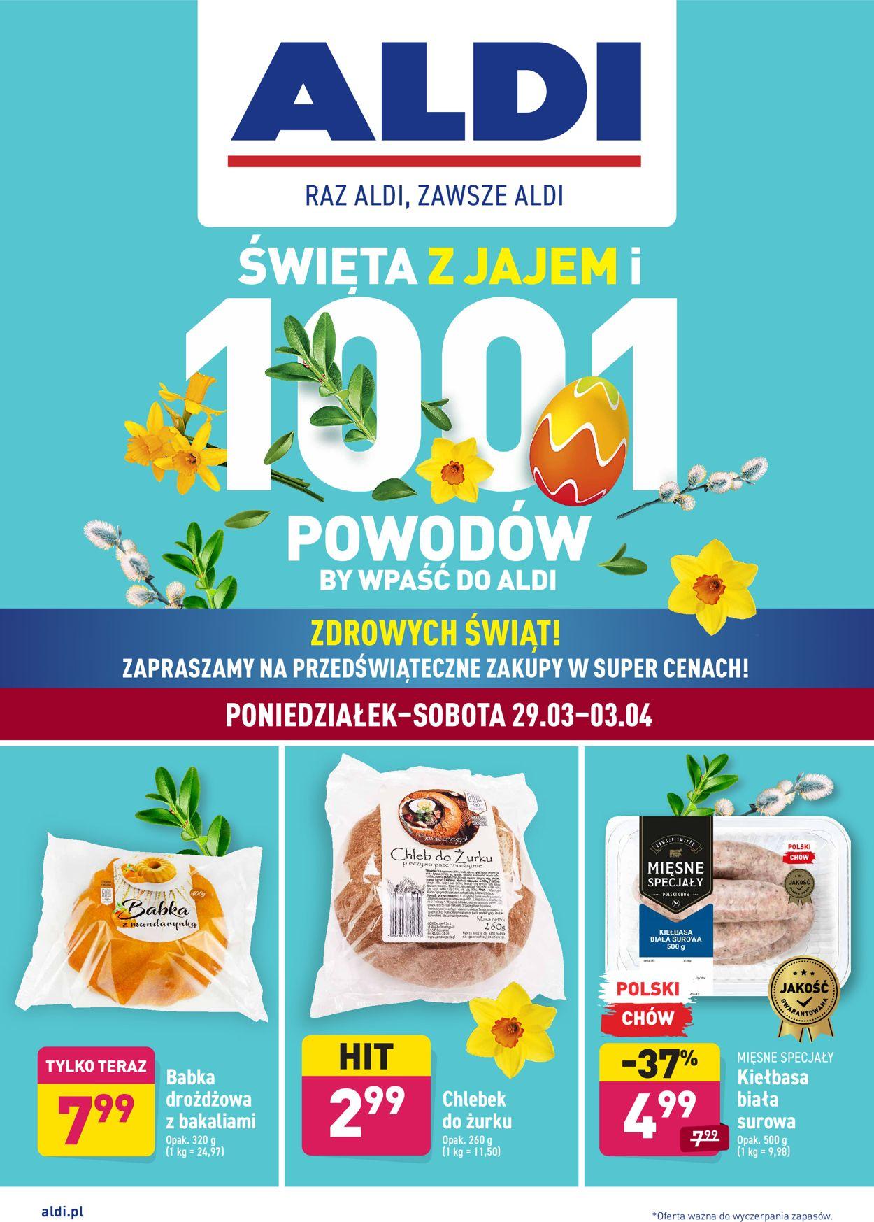 Gazetka promocyjna ALDI Wielkanoc 2021 - 29.03-03.04.2021