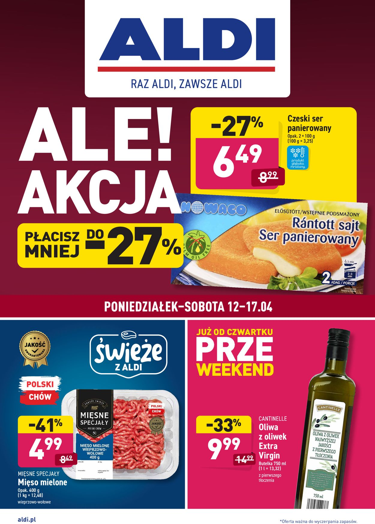 Gazetka promocyjna ALDI - 12.04-17.04.2021