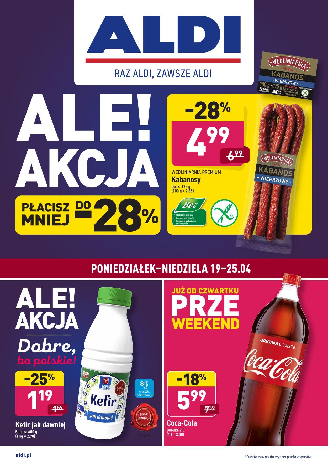 Gazetka promocyjna ALDI - 19.04-25.04.2021