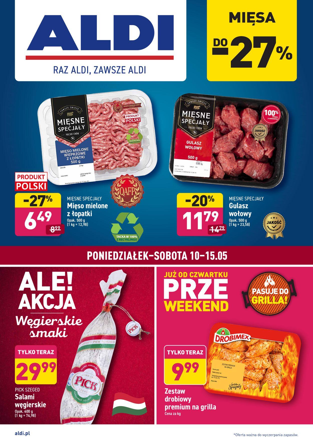 Gazetka promocyjna ALDI - 10.05-15.05.2021