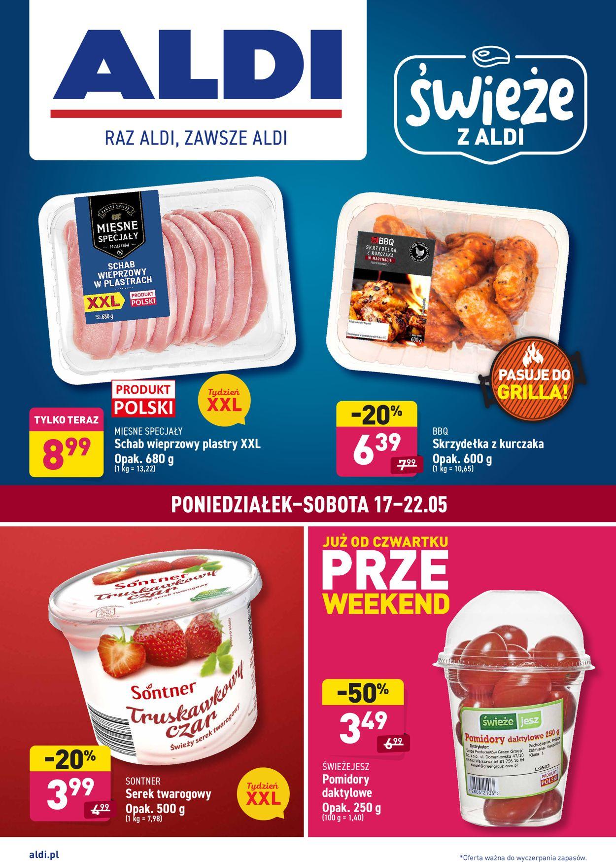 Gazetka promocyjna ALDI - 17.05-22.05.2021