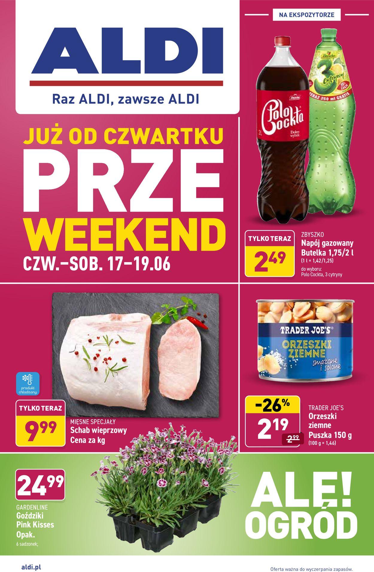 Gazetka promocyjna ALDI - 17.06-19.06.2021