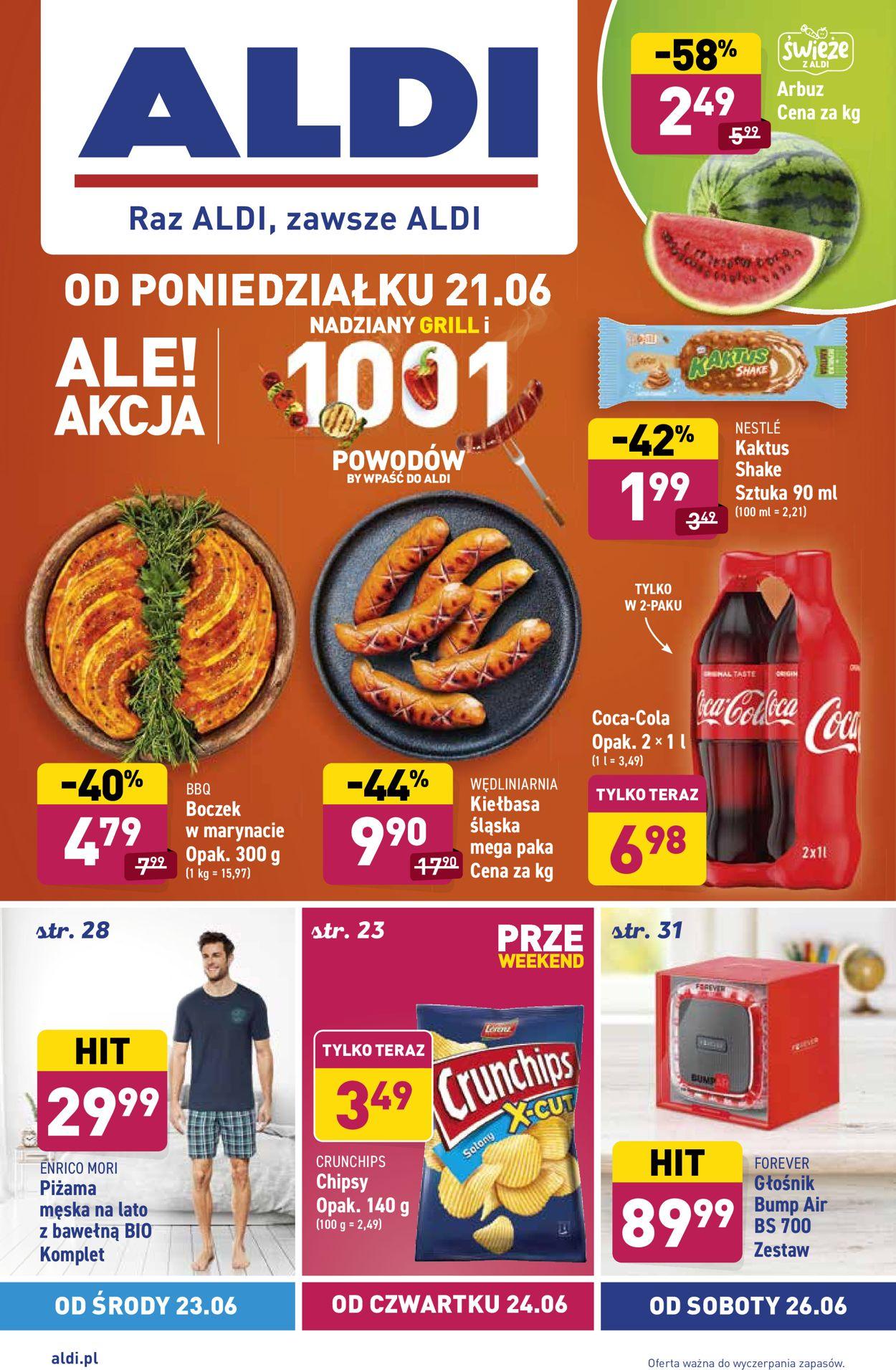 Gazetka promocyjna ALDI - 21.06-27.06.2021