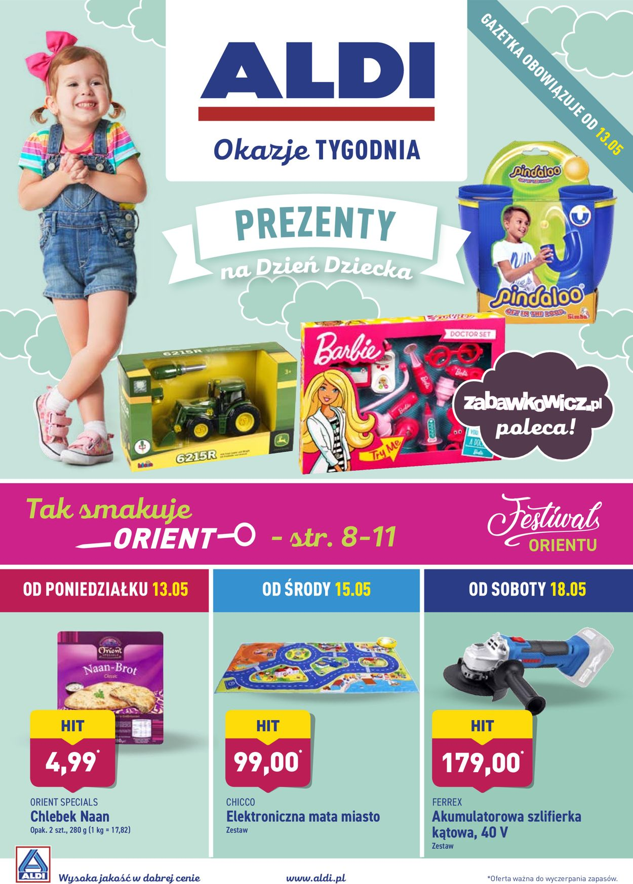 Gazetka promocyjna ALDI - 13.05-19.05.2019