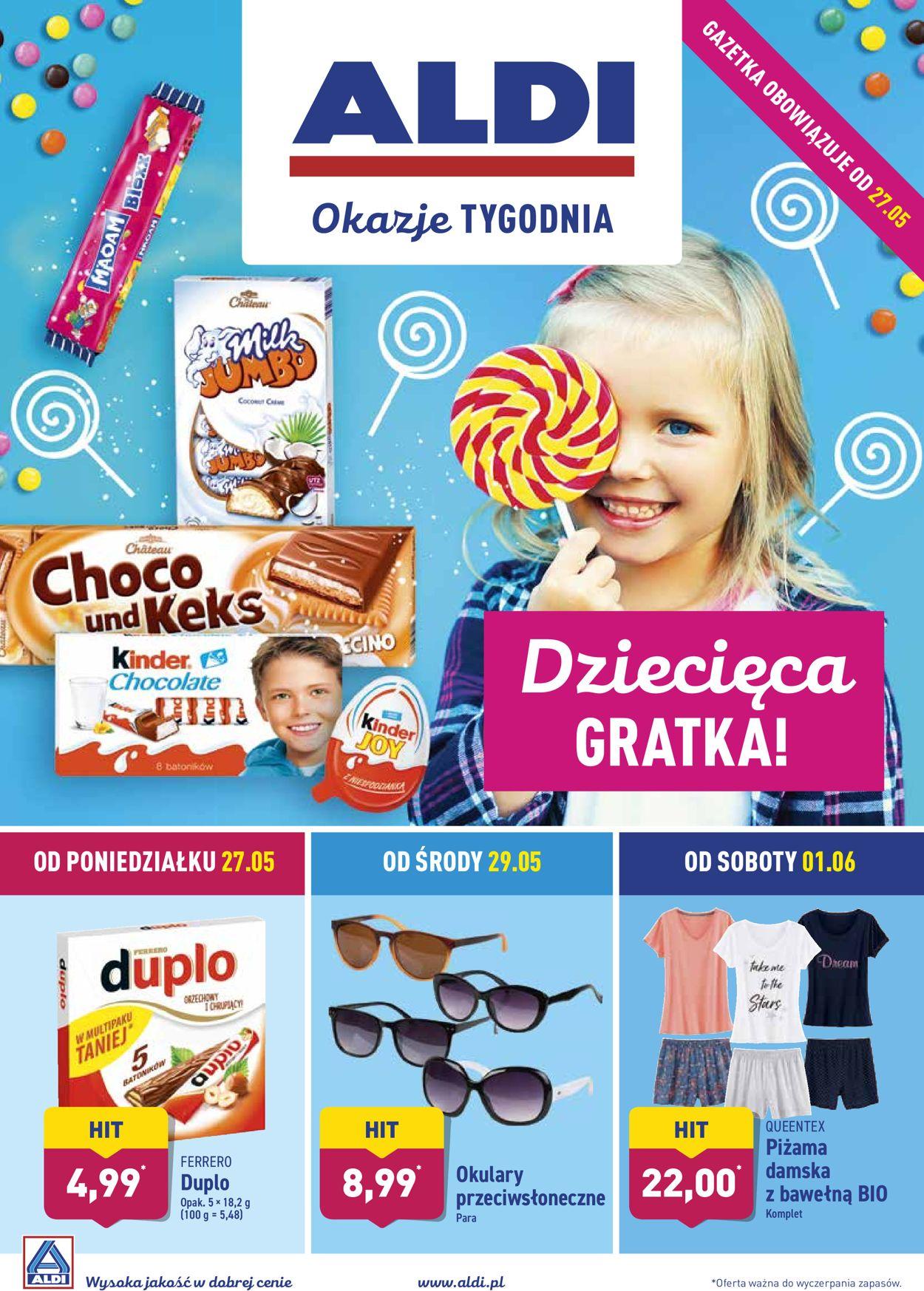 Gazetka promocyjna ALDI - 27.05-02.06.2019