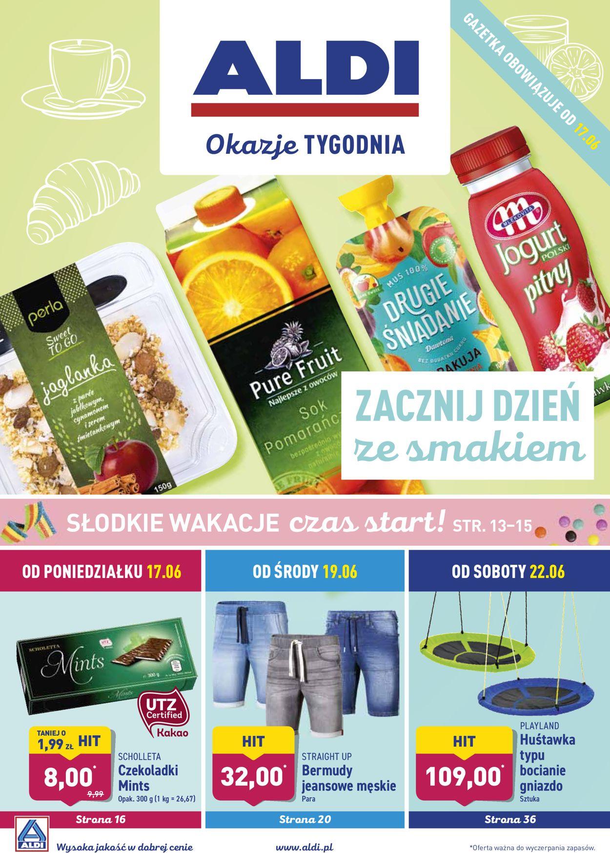 Gazetka promocyjna ALDI - 17.06-23.06.2019
