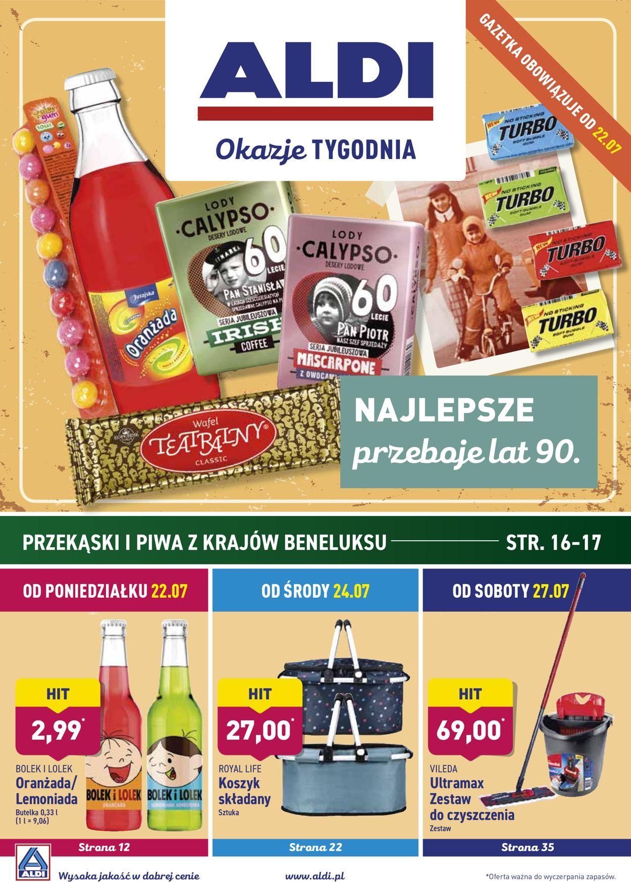 Gazetka promocyjna ALDI - 22.07-27.07.2019